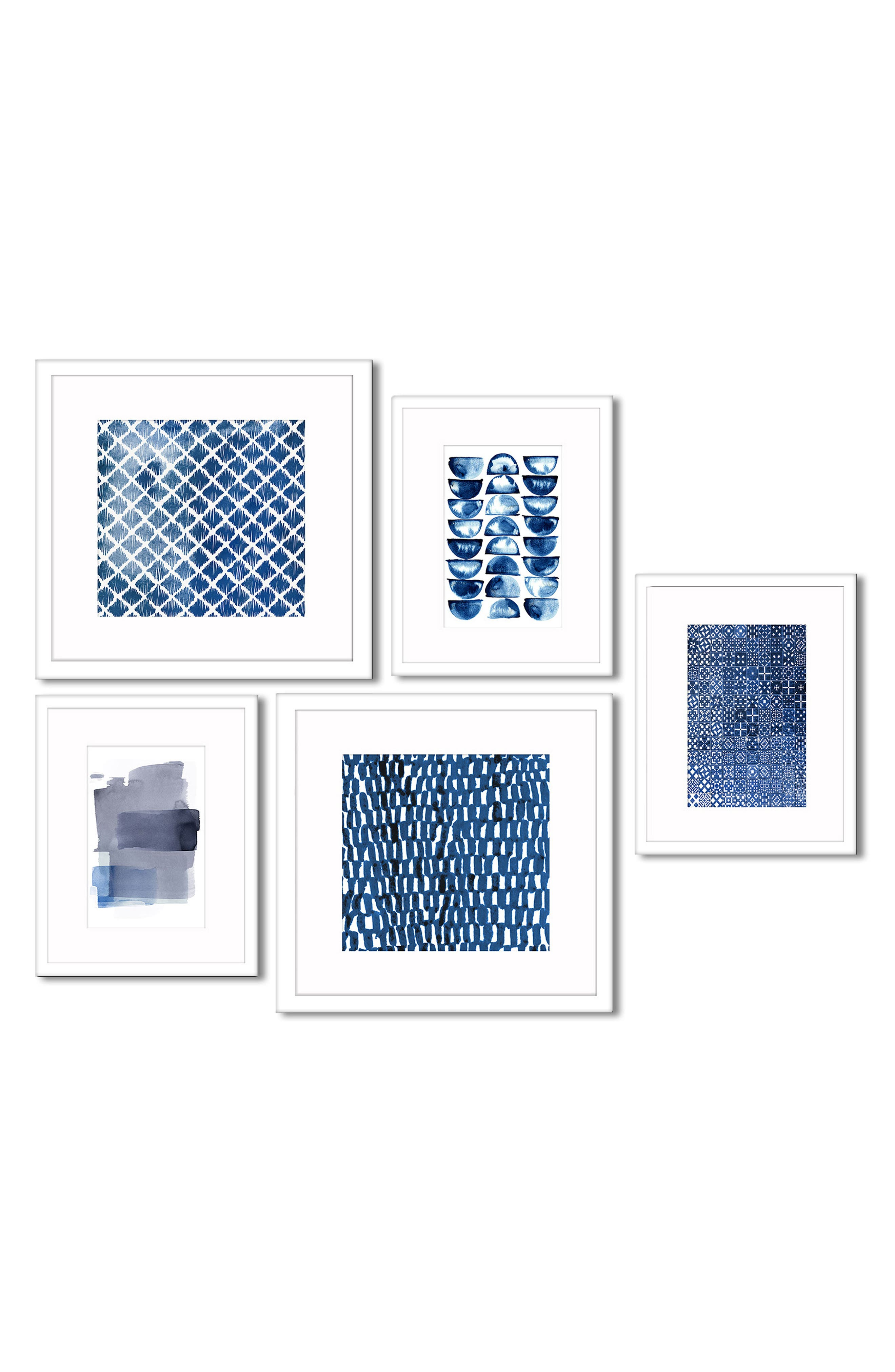5-Piece Framed Wall Art Gallery,                             Main thumbnail 1, color,                             400