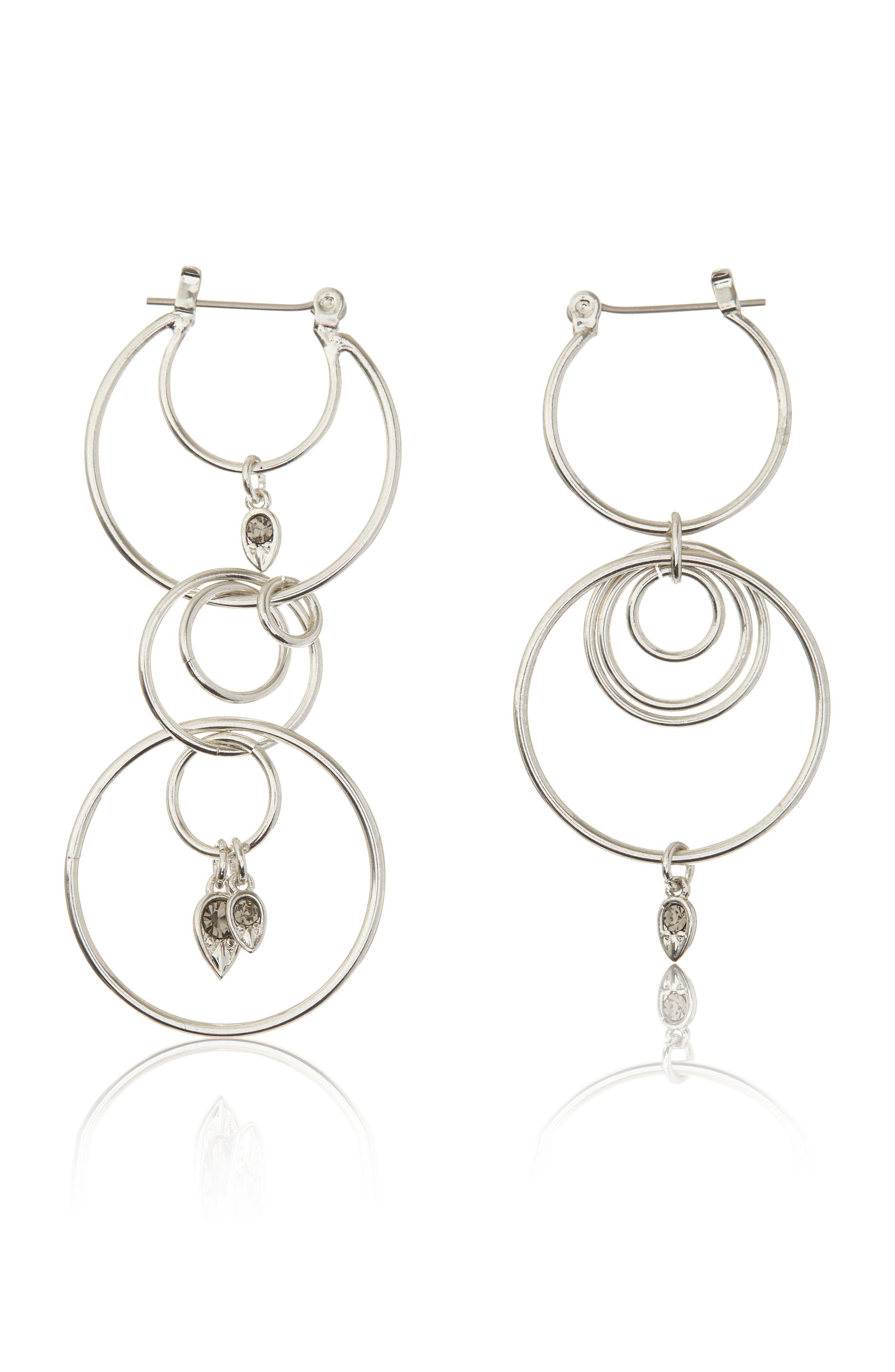 Eclipse Hoop Earrings,                         Main,                         color, 040