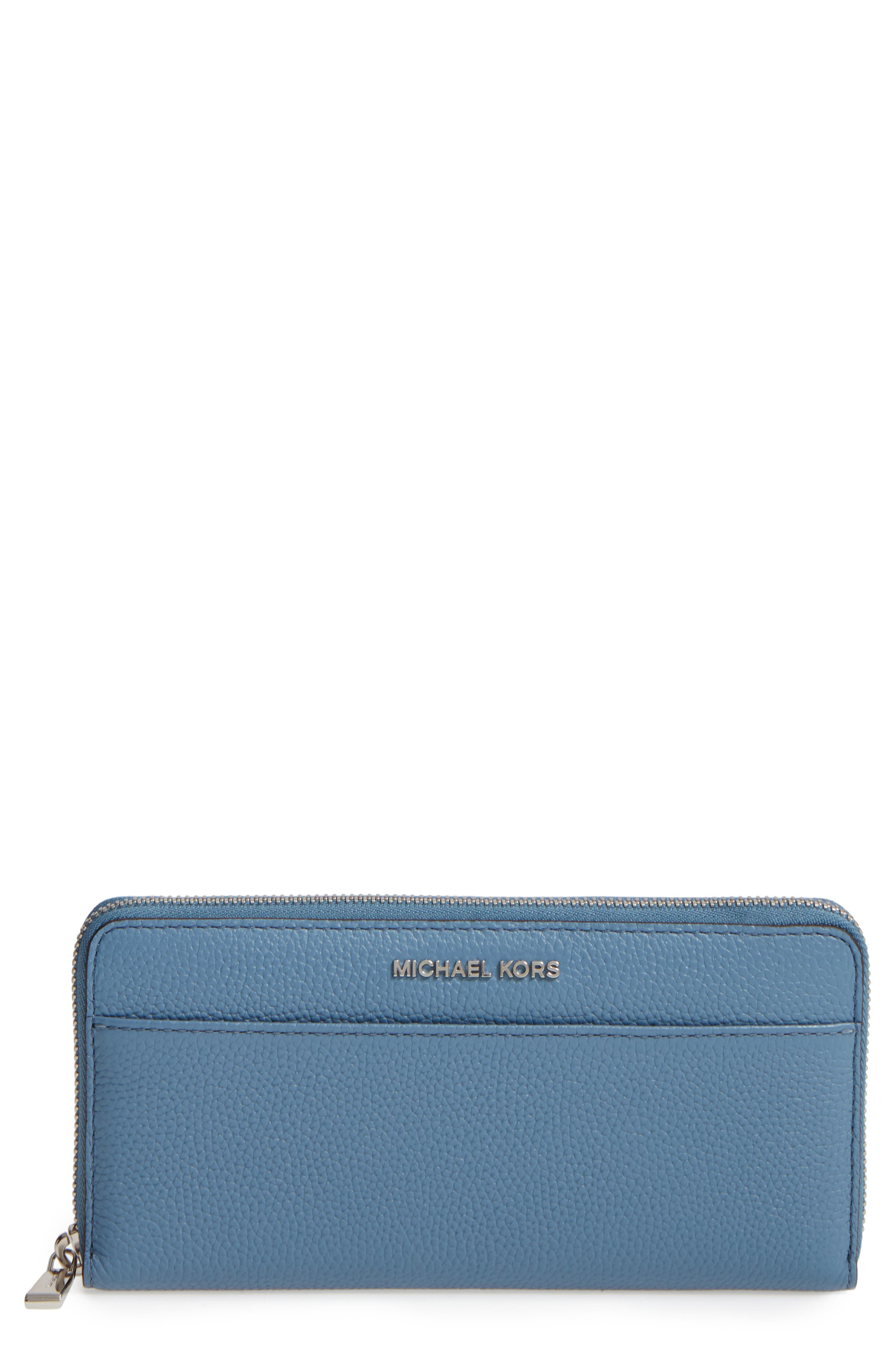 Mercer Leather Continental Wallet,                             Main thumbnail 2, color,