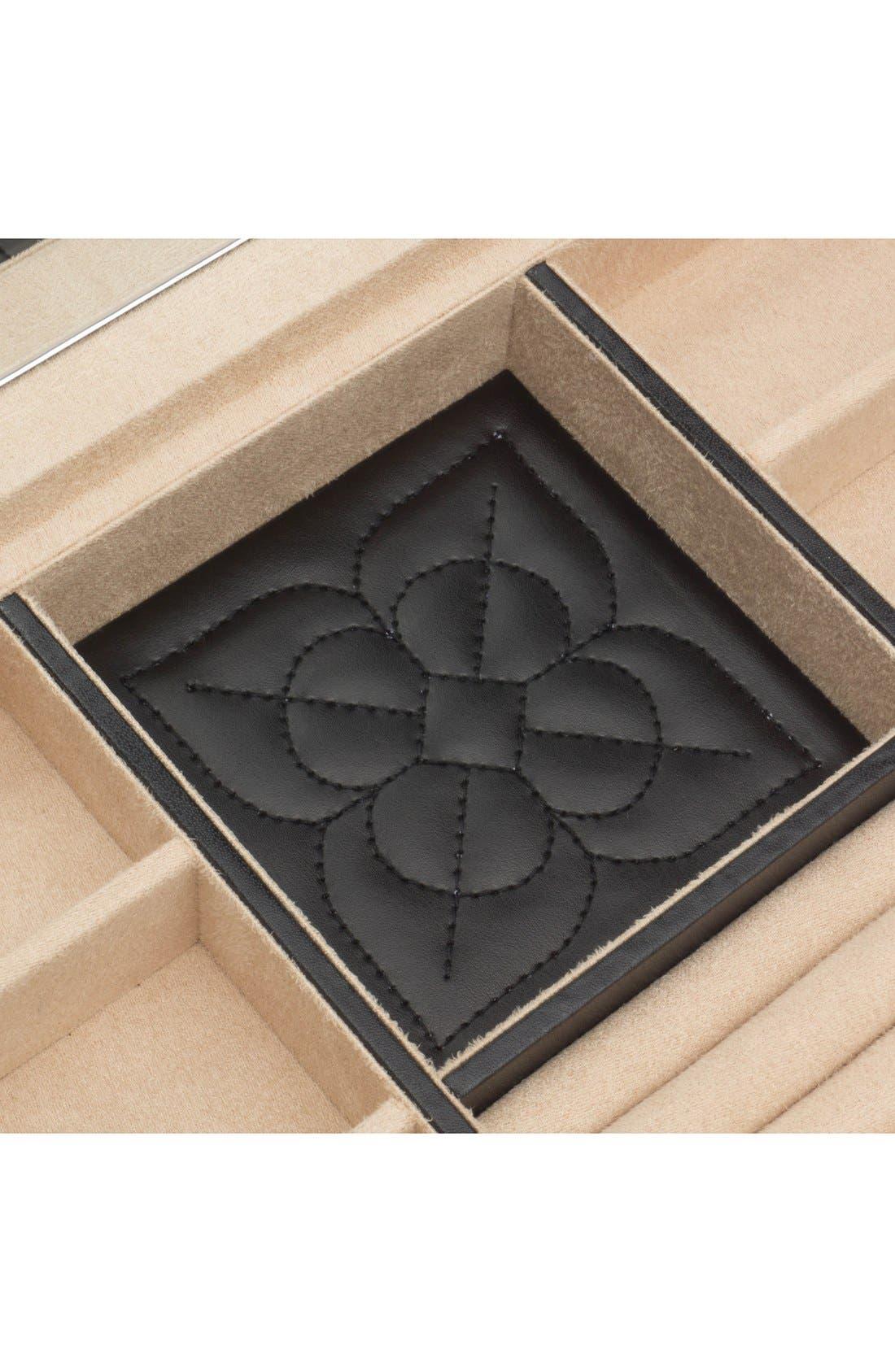 'Marrakesh' Jewelry Box,                             Alternate thumbnail 4, color,                             BLACK