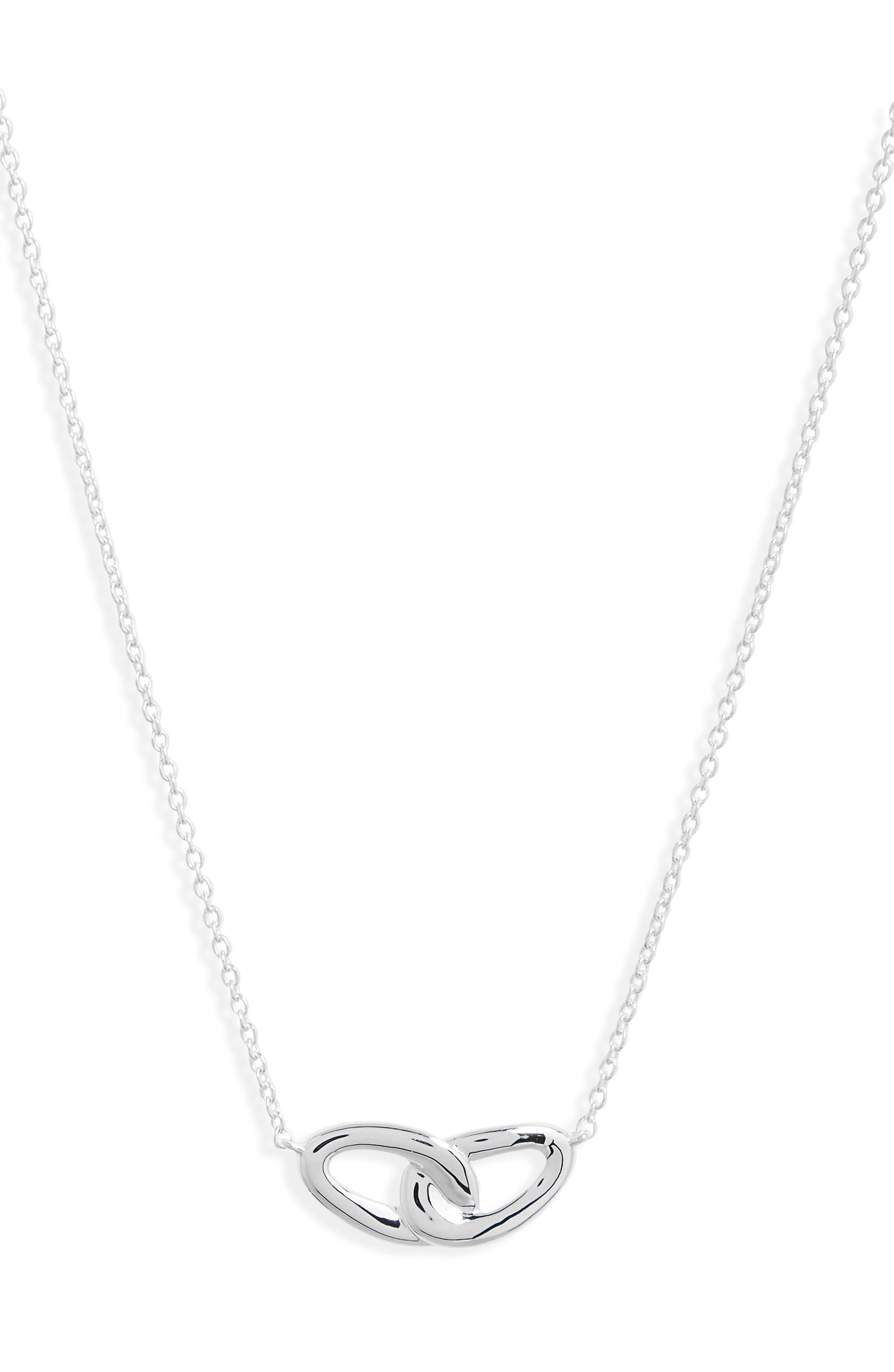 Cherish Interlocking Pendant Necklace,                             Main thumbnail 1, color,                             040
