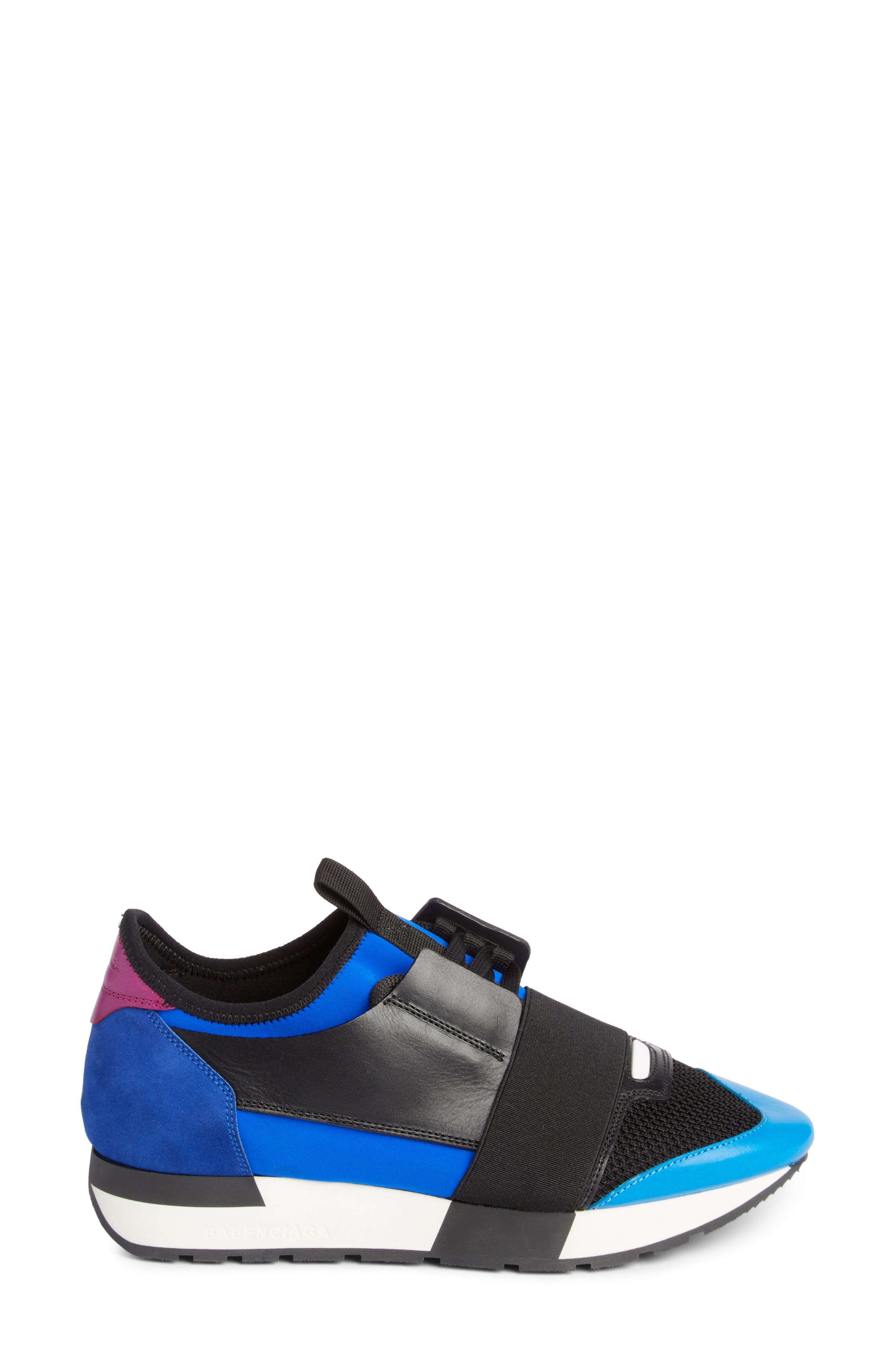 Mixed Media Sneaker,                             Alternate thumbnail 3, color,                             003