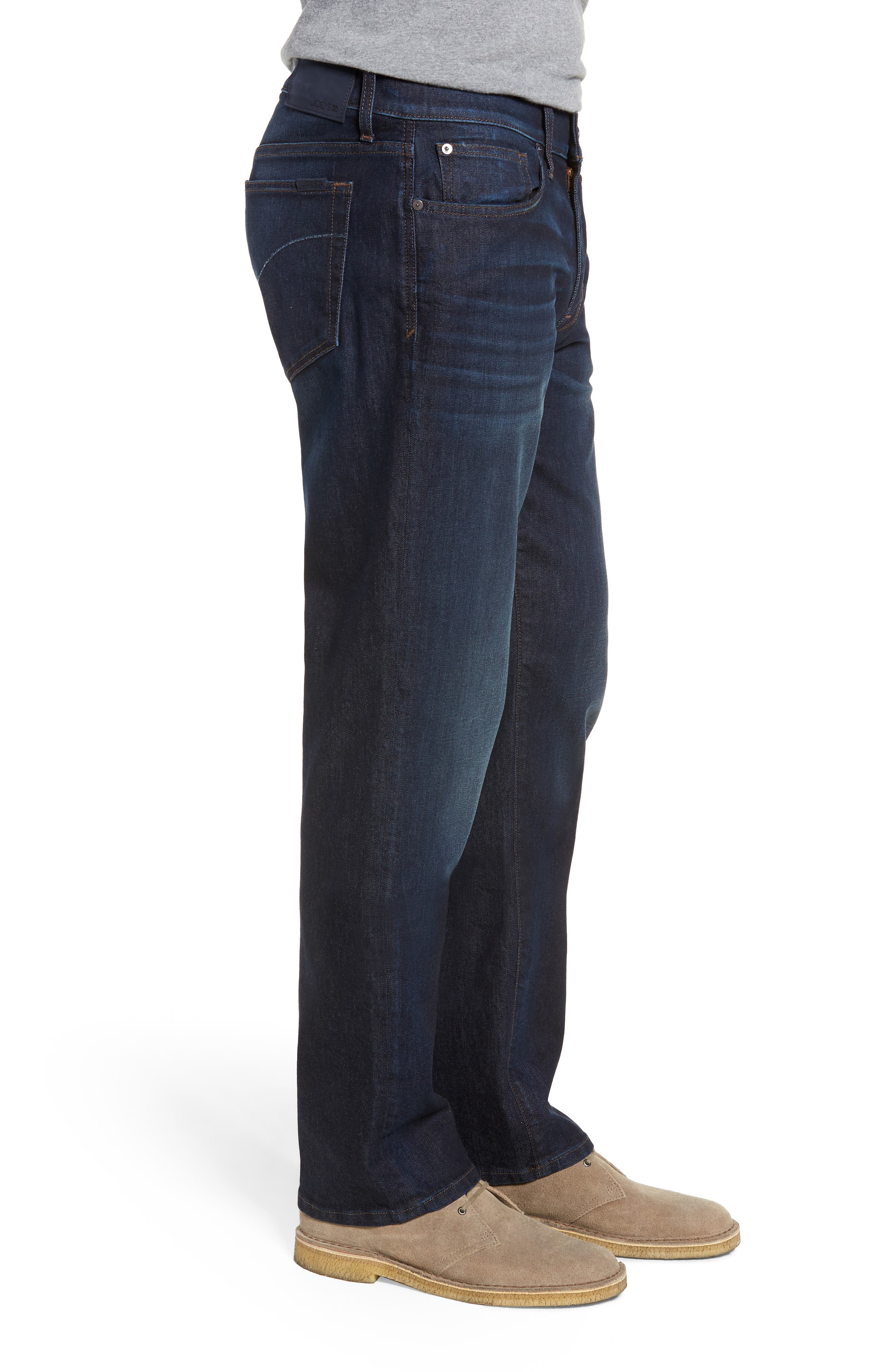 Classic Straight Leg Jeans,                             Alternate thumbnail 3, color,                             LUCCA