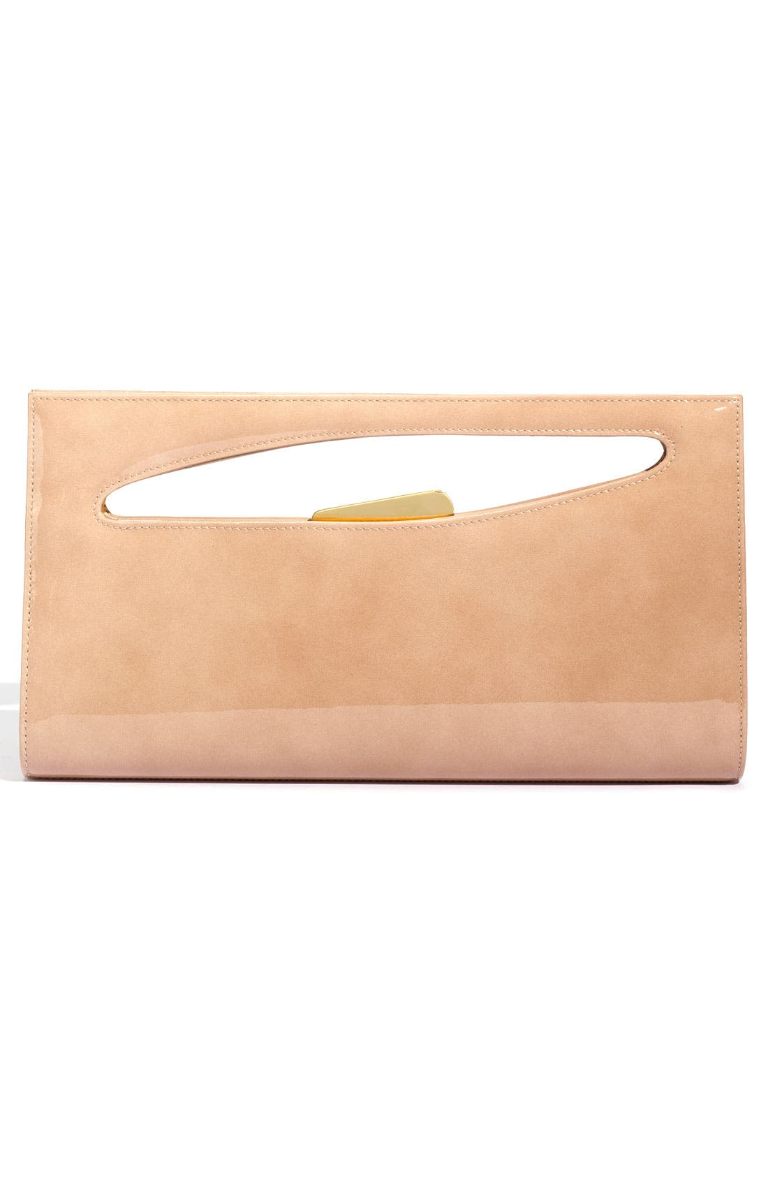 STUART WEITZMAN,                             'Grip' Handbag,                             Alternate thumbnail 4, color,                             002