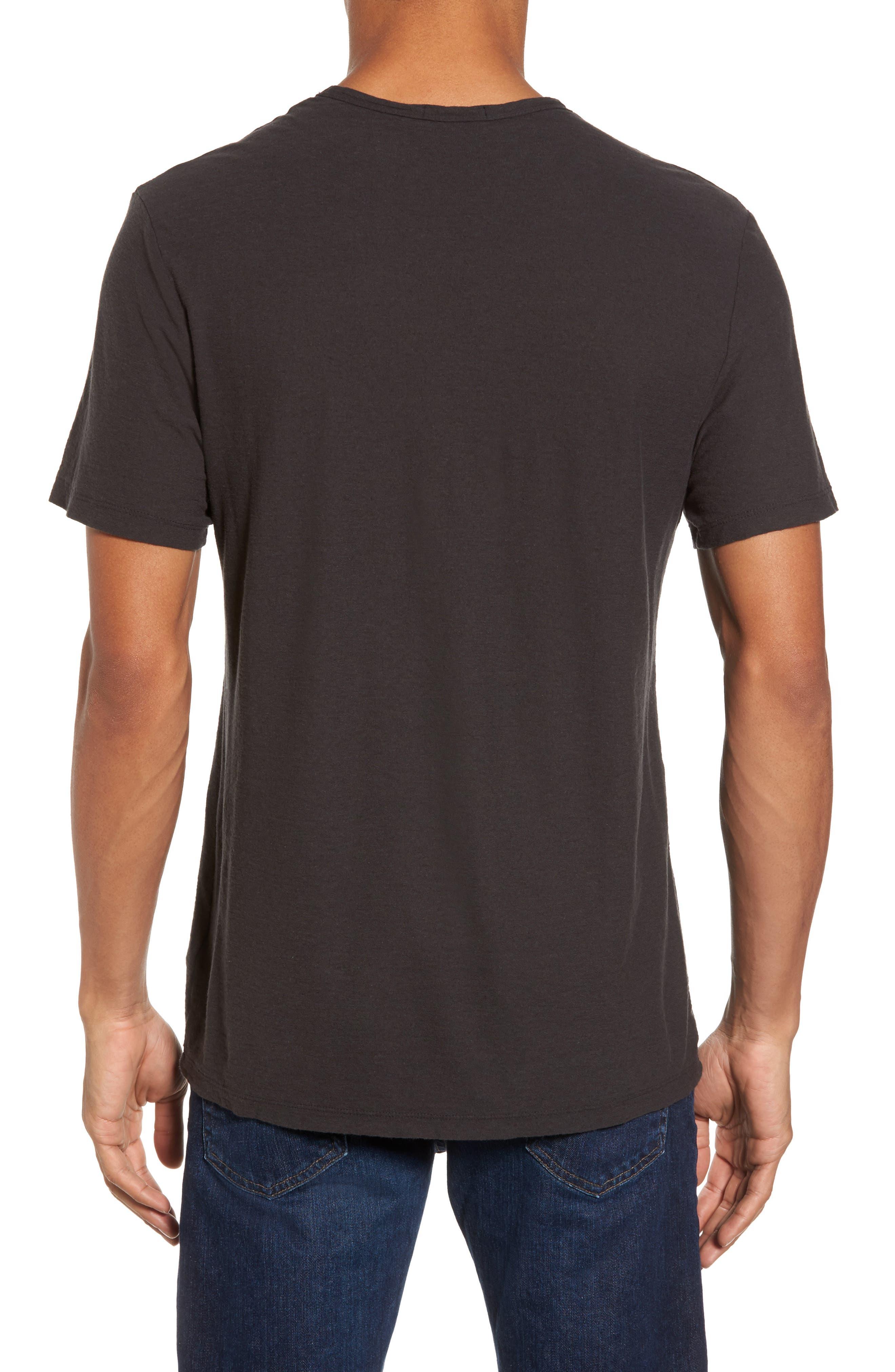 Cotton & Linen Pocket T-Shirt,                             Alternate thumbnail 2, color,                             020
