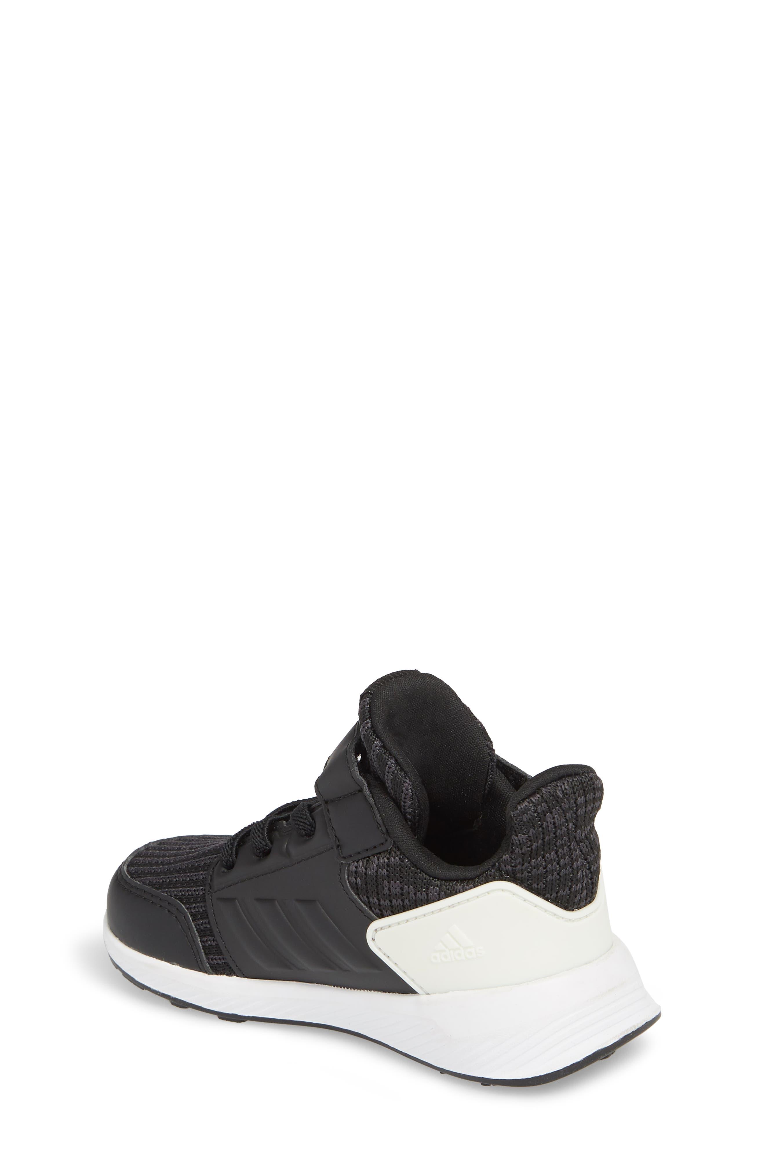 RapidaRun Knit Sneaker,                             Alternate thumbnail 2, color,                             BLACK/ WHITE