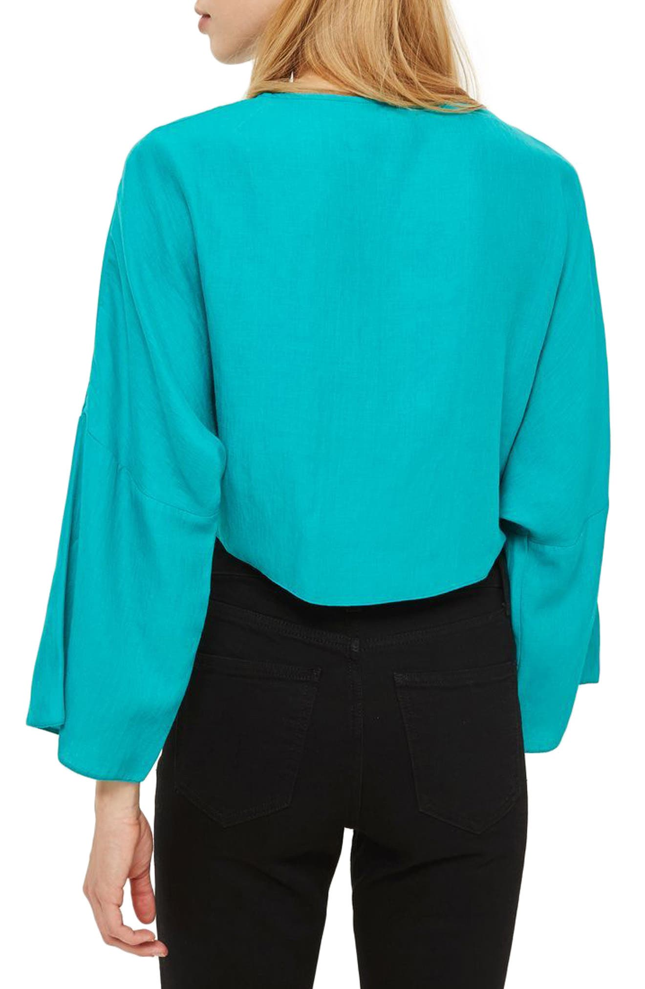 Knot Front Top,                             Alternate thumbnail 2, color,                             440