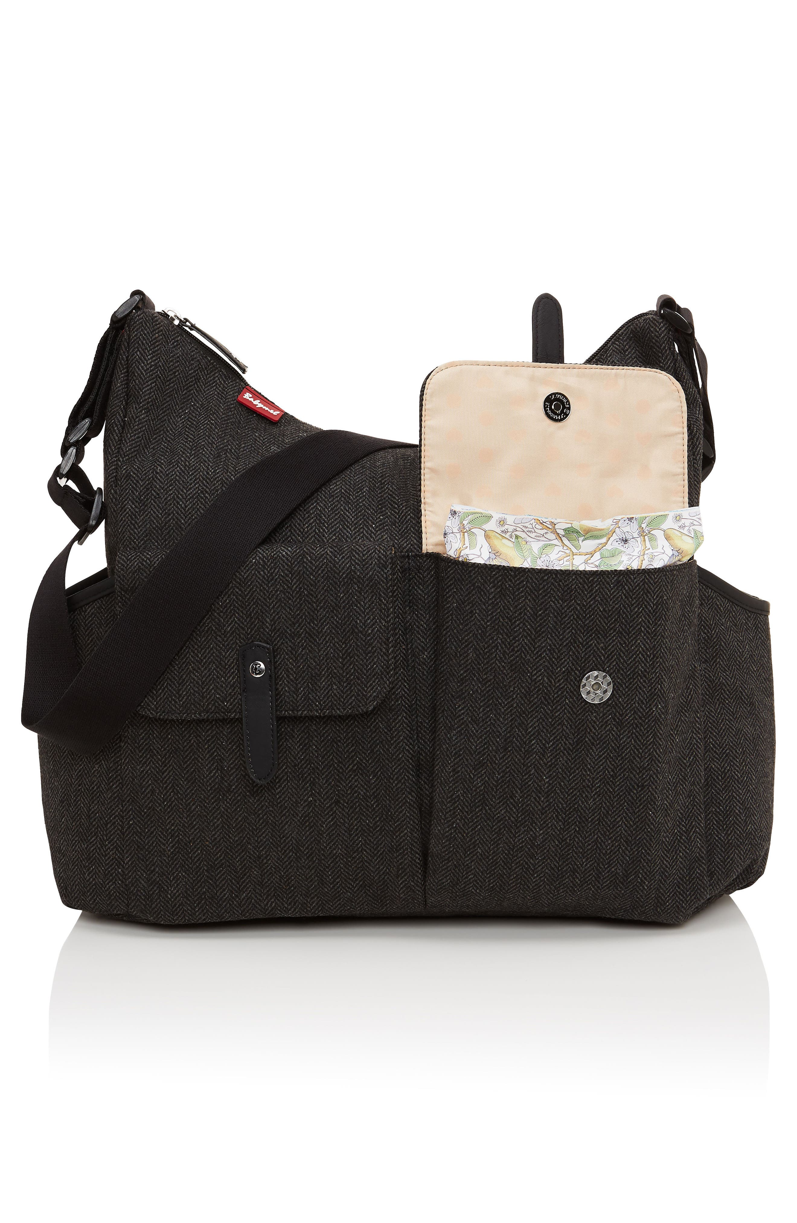 'Frankie' Diaper Bag,                             Alternate thumbnail 13, color,