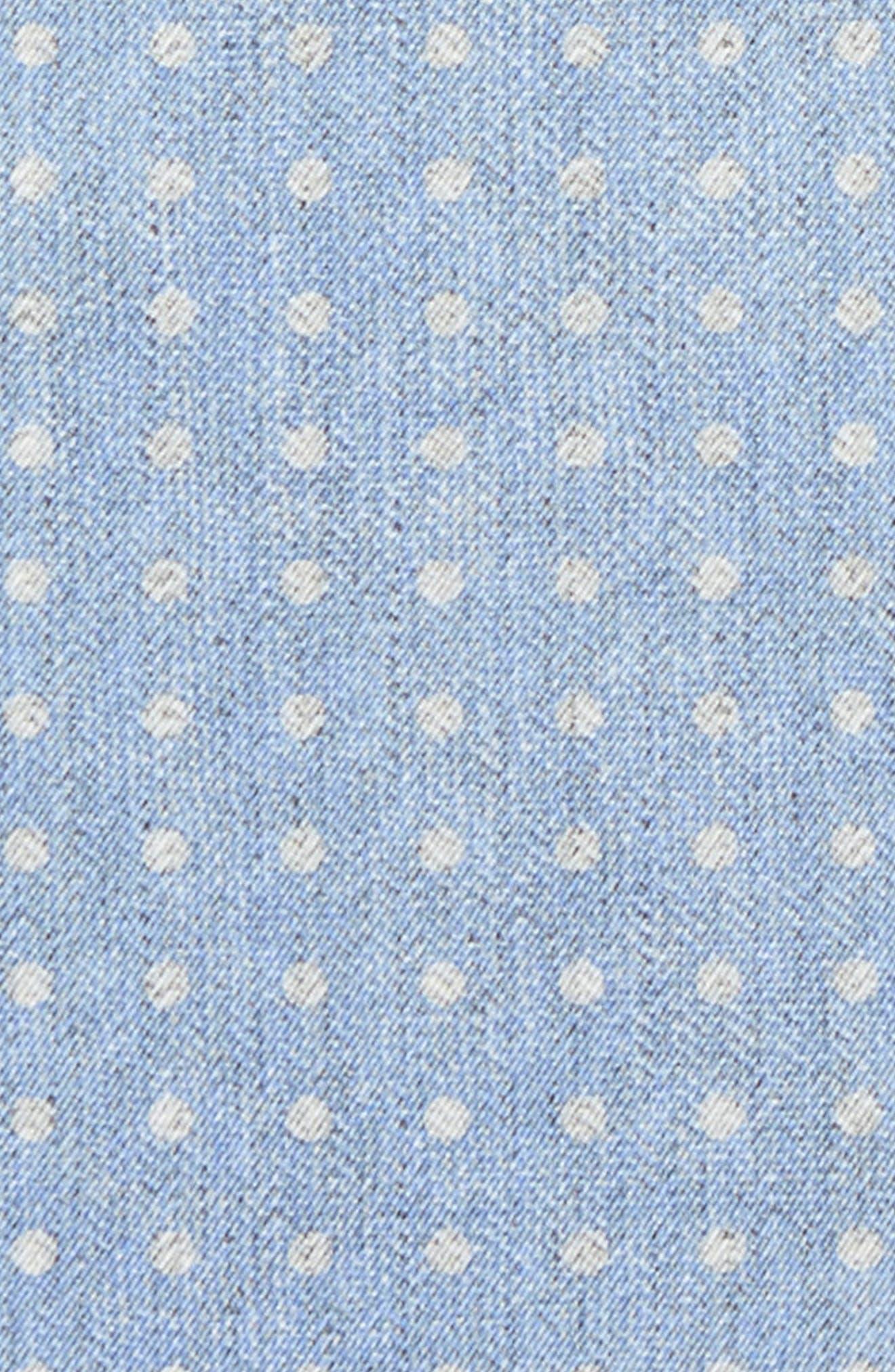 Dot Silk Pocket Square,                             Alternate thumbnail 9, color,