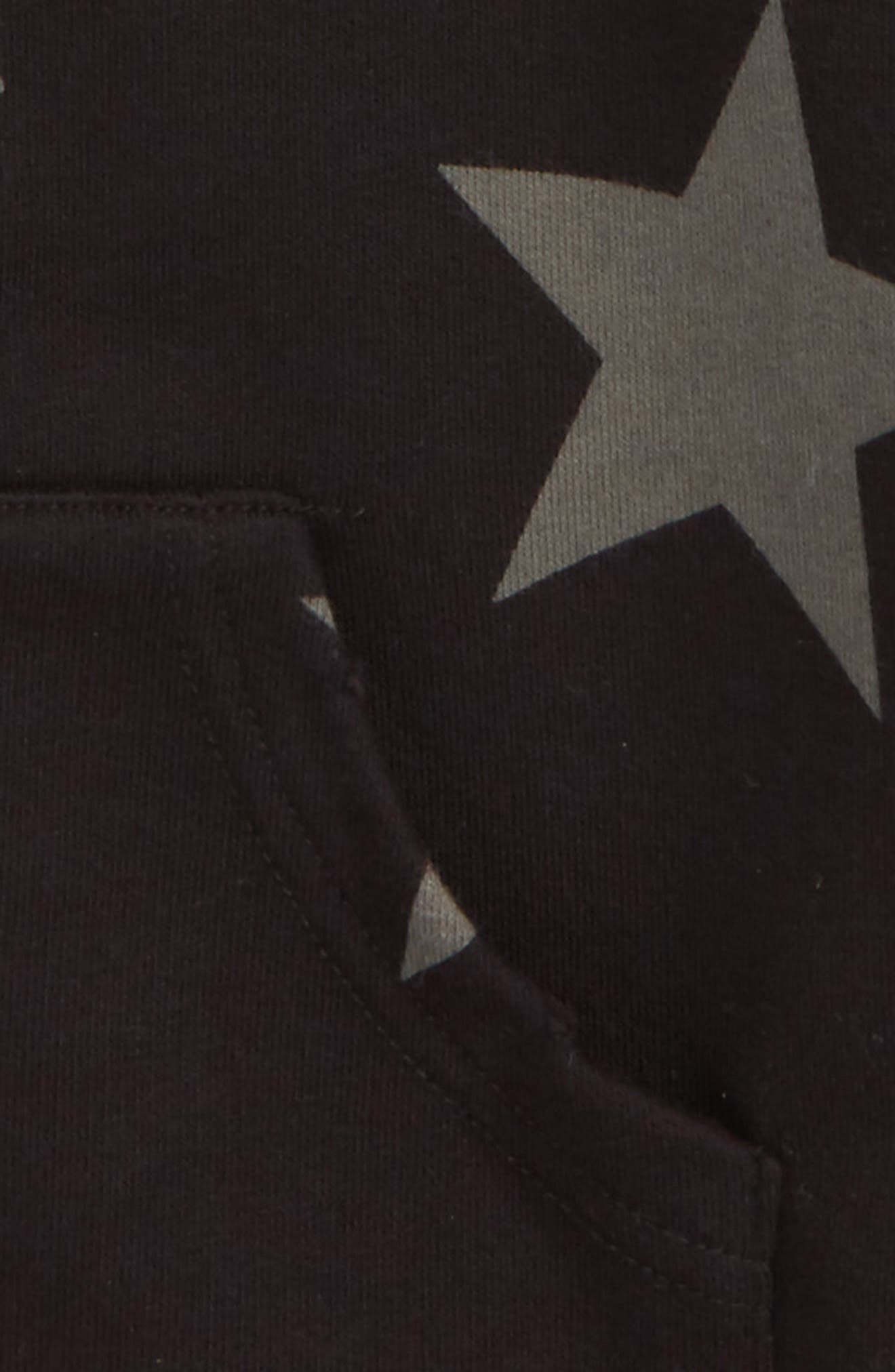 Star Zip Hoodie,                             Alternate thumbnail 2, color,                             001