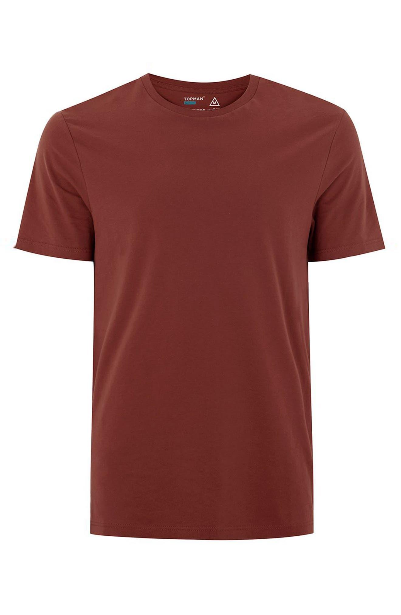 Slim Fit Crewneck T-Shirt,                             Alternate thumbnail 306, color,