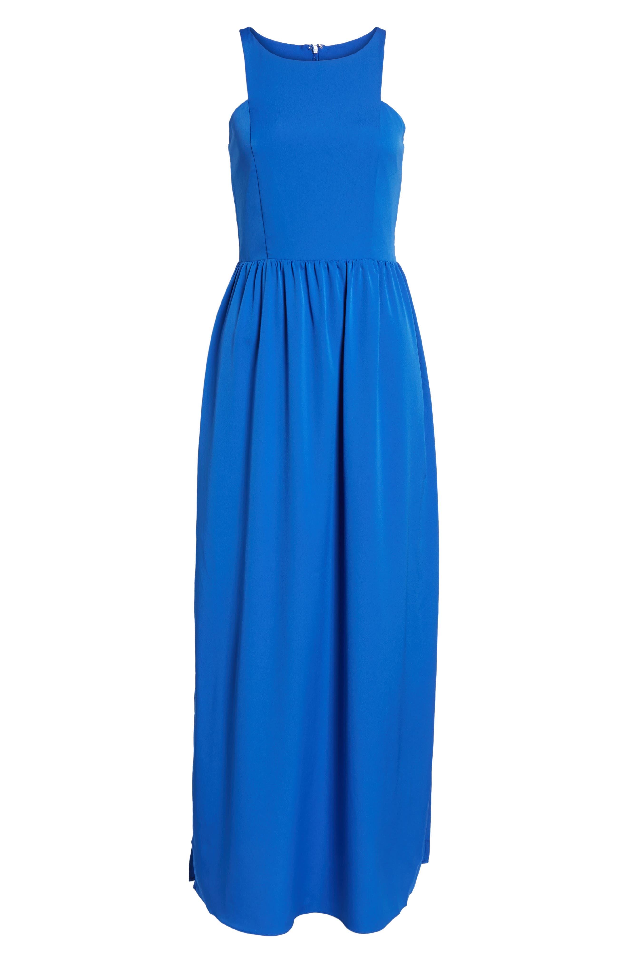Cutaway Shoulder Maxi Dress,                             Alternate thumbnail 2, color,                             401