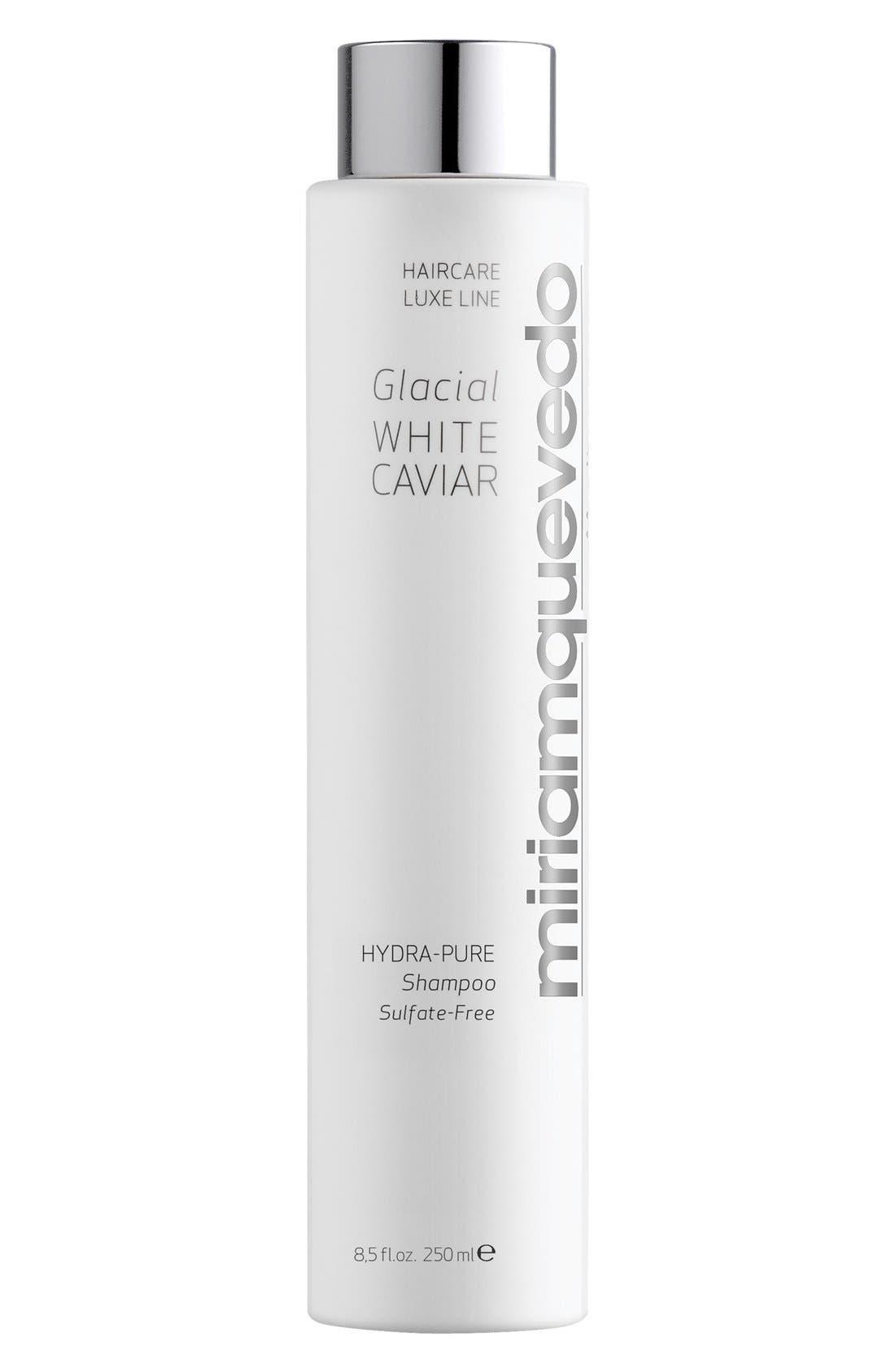 SPACE.NK.apothecary Miriam Quevedo Glacial White Caviar Hydra-Pure Shampoo,                             Main thumbnail 1, color,                             NO COLOR