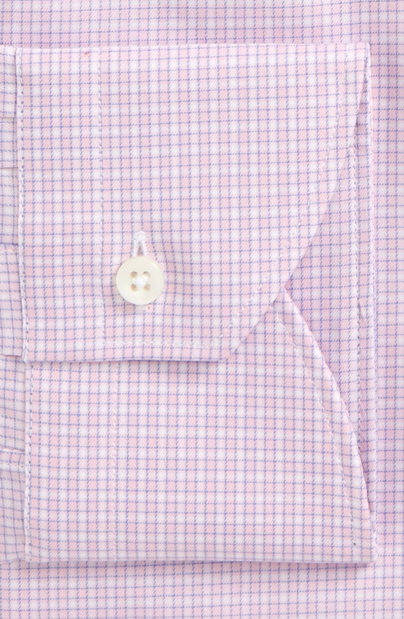 Regular Fit Check Dress Shirt,                             Alternate thumbnail 2, color,                             650