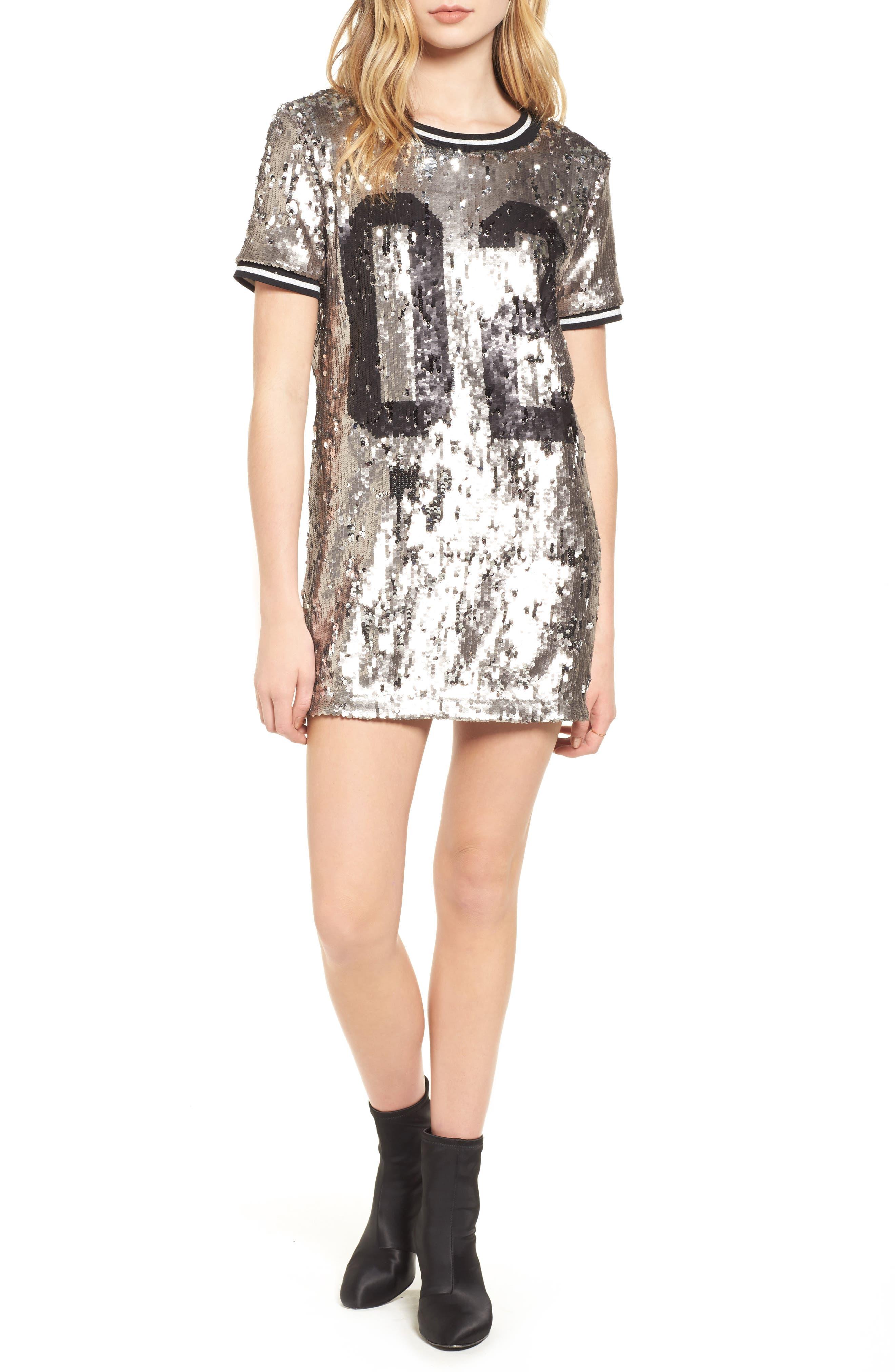 Sequin Dress,                         Main,                         color,