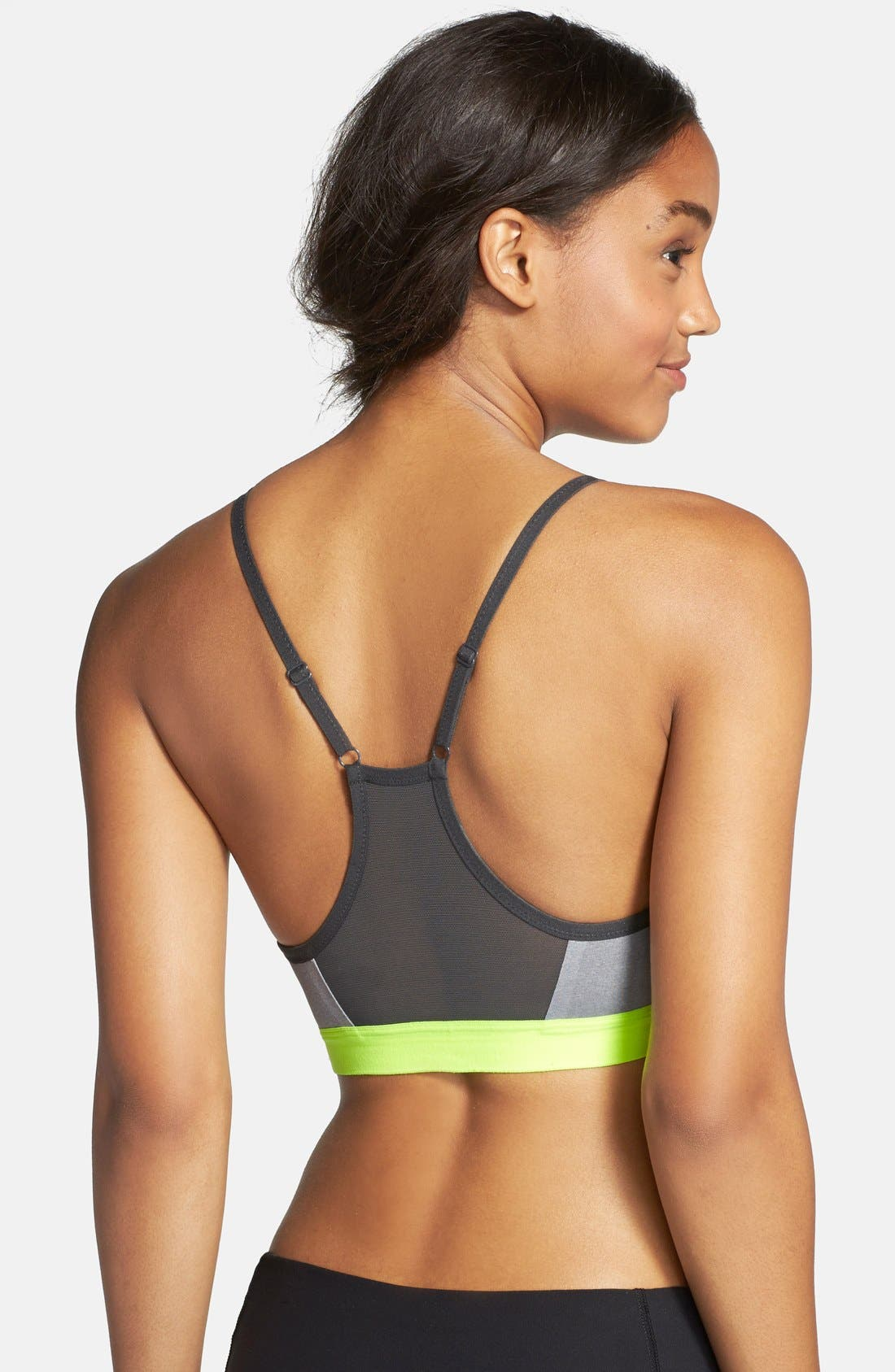'Pro Indy' Dri-FIT Sports Bra,                             Alternate thumbnail 8, color,                             064