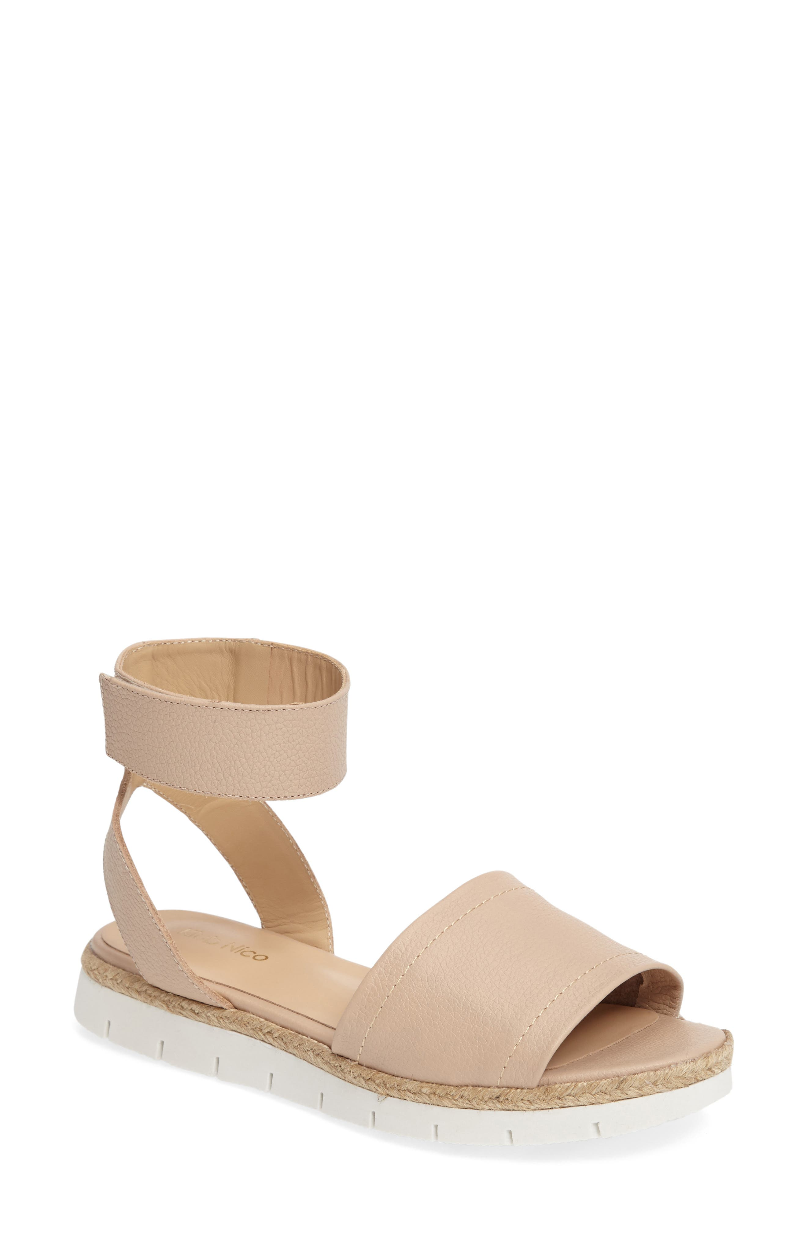 Cleo Platform Sandal,                             Main thumbnail 4, color,