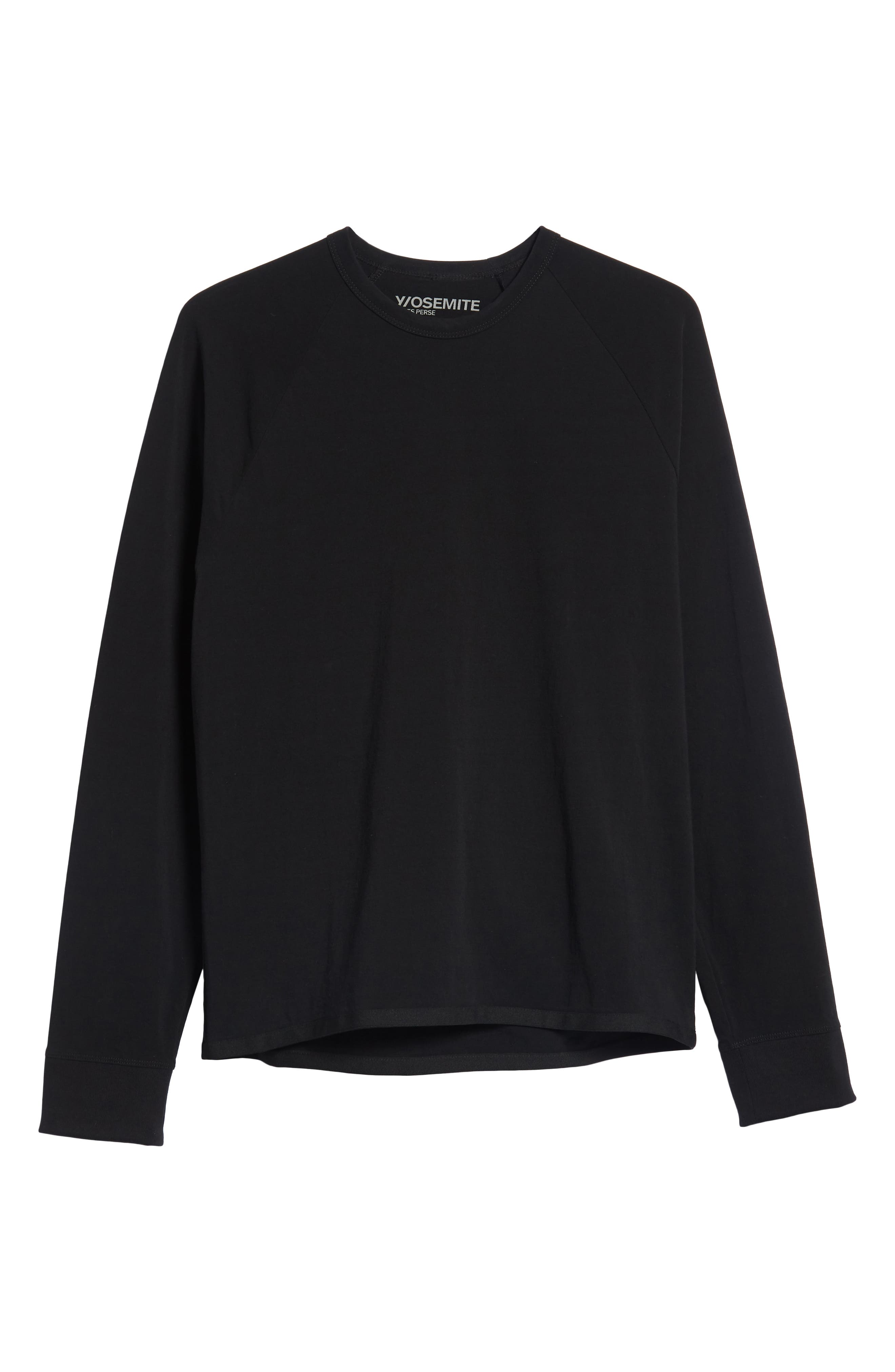 Long Sleeve Graphic T-Shirt,                             Alternate thumbnail 6, color,                             001