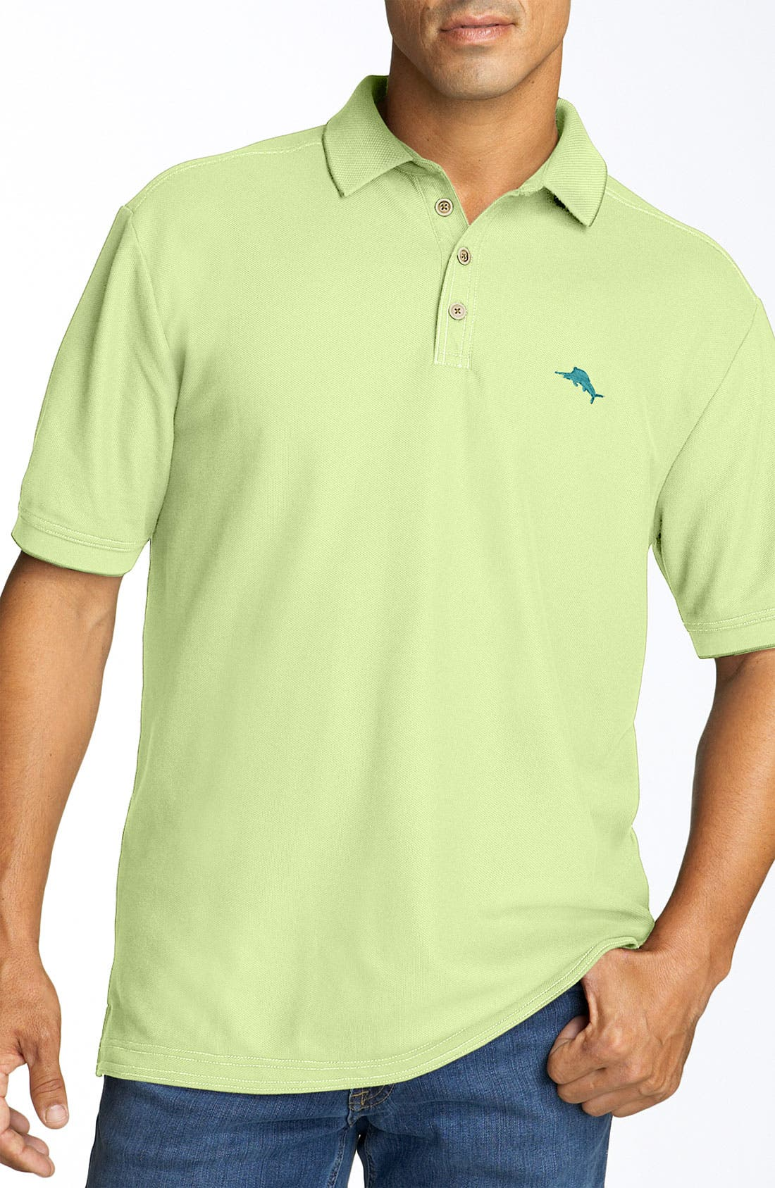 'The Emfielder' Original Fit Piqué Polo,                             Main thumbnail 39, color,
