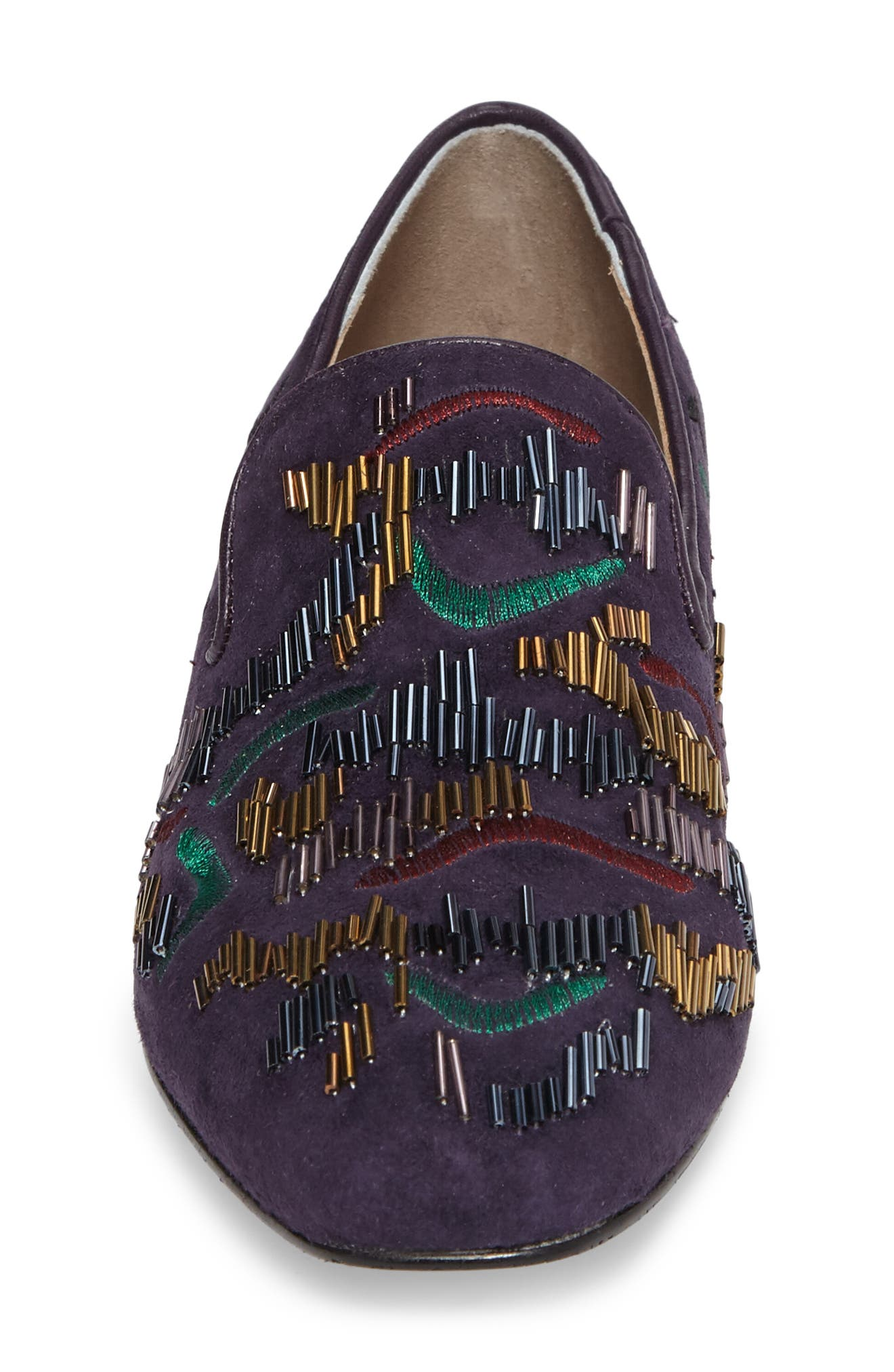 Leanne Beaded Loafer,                             Alternate thumbnail 4, color,                             654