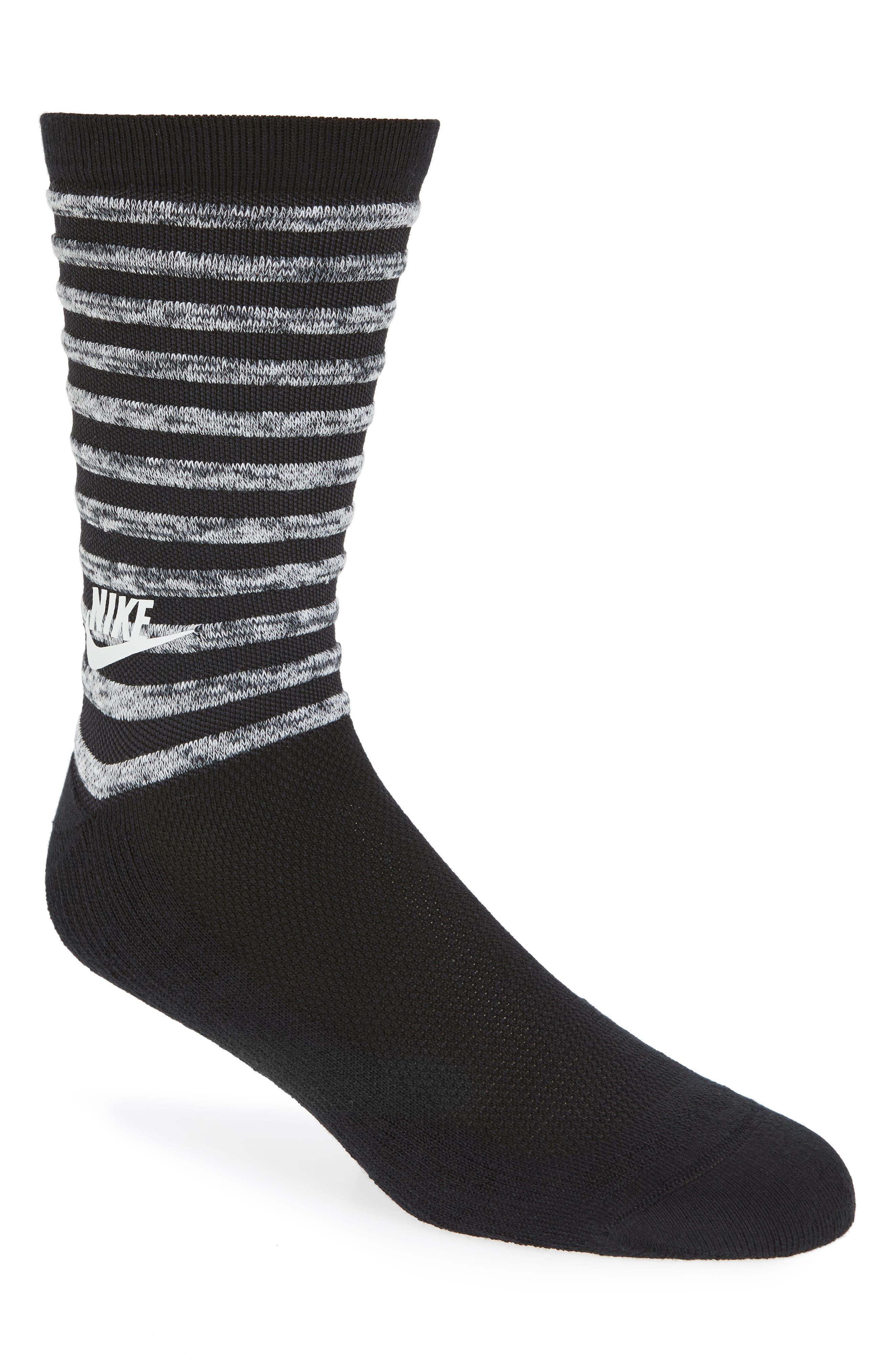 Tech Stripe Socks,                             Main thumbnail 1, color,                             010