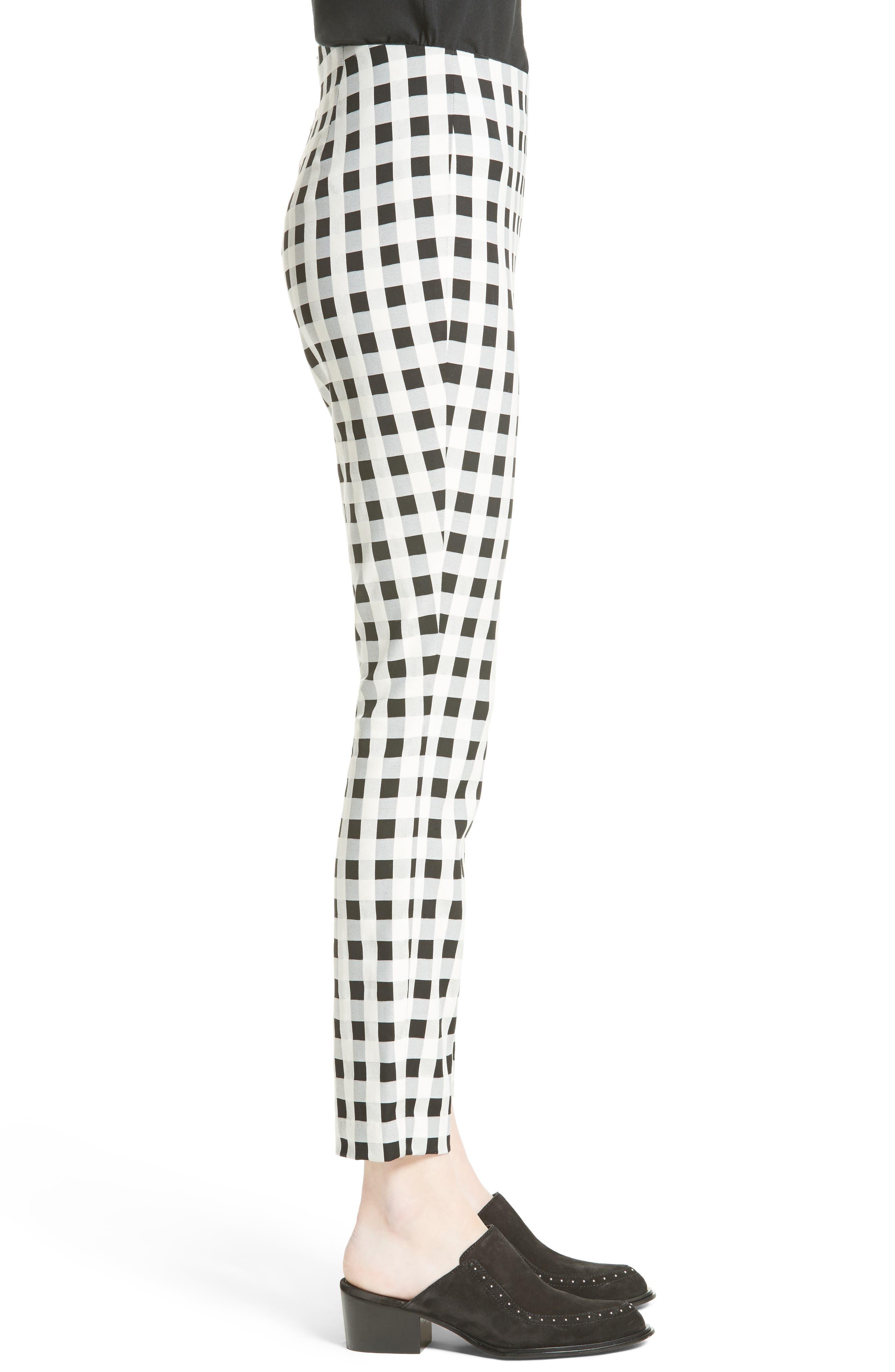 Simone Slim Ankle Pants,                             Alternate thumbnail 3, color,                             001