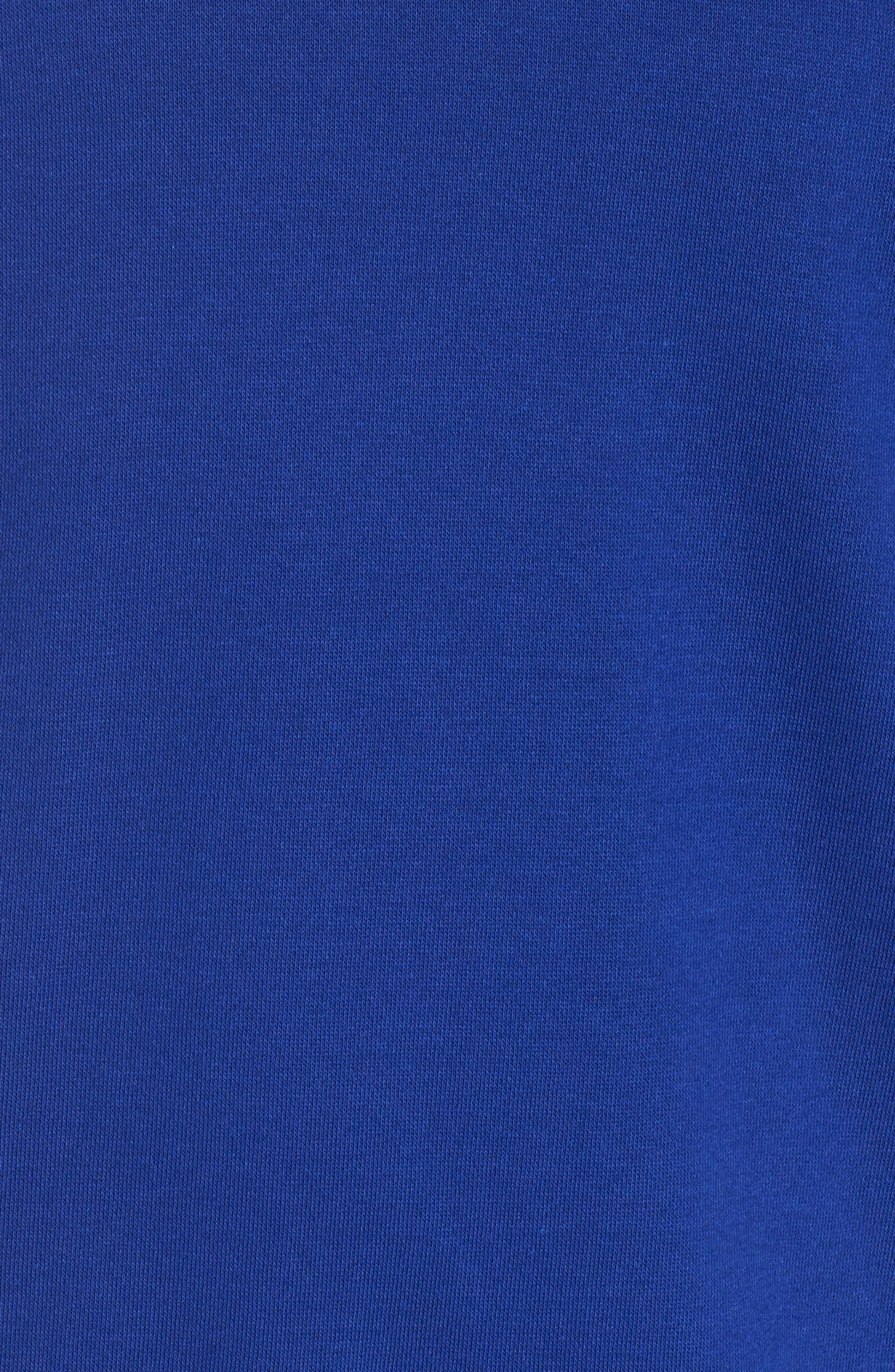 adidas Oversize Crewneck Sweatshirt,                             Alternate thumbnail 6, color,                             MYSTERY INK