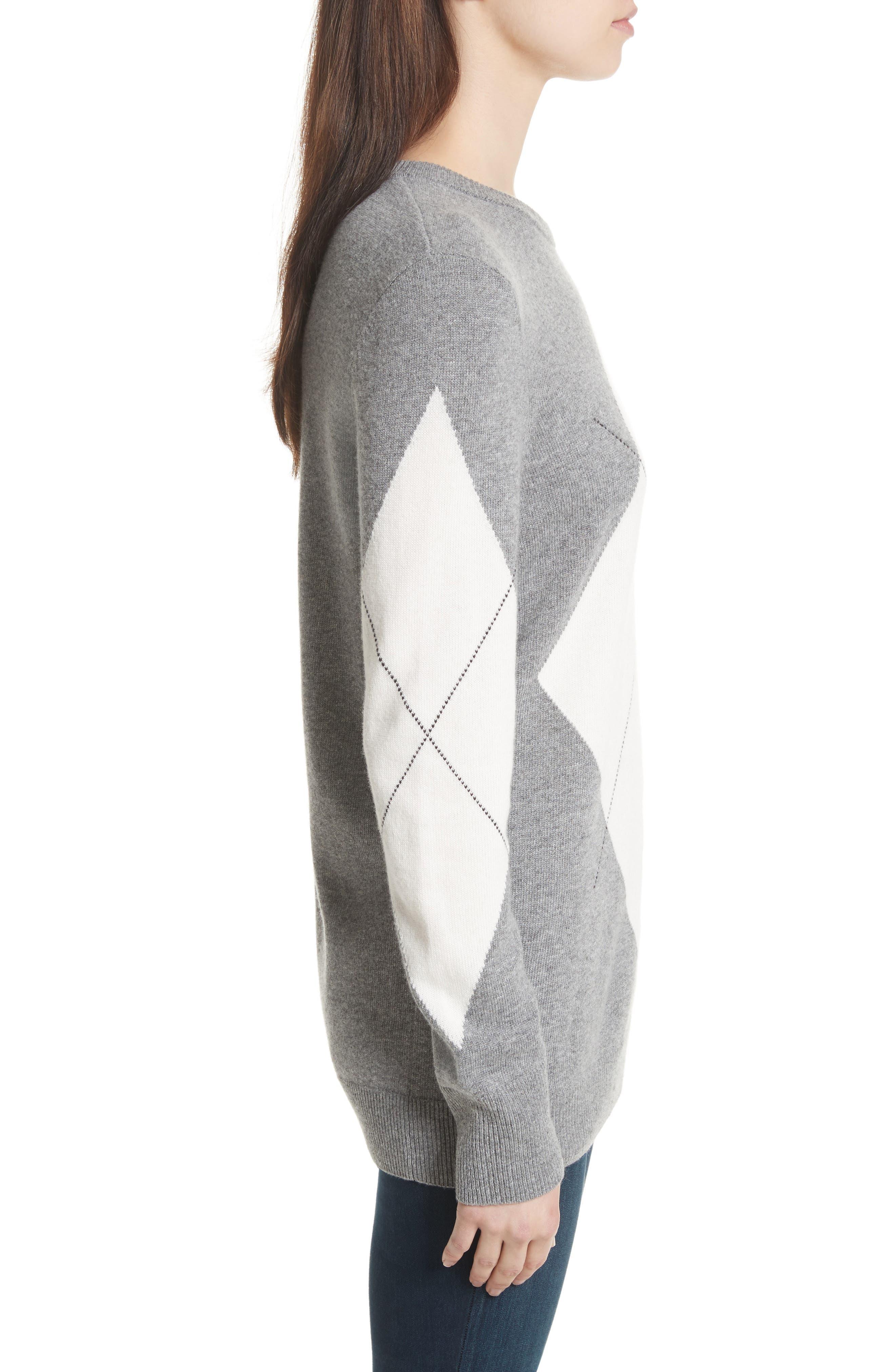 Rei Argyle Crewneck Sweater,                             Alternate thumbnail 3, color,                             077