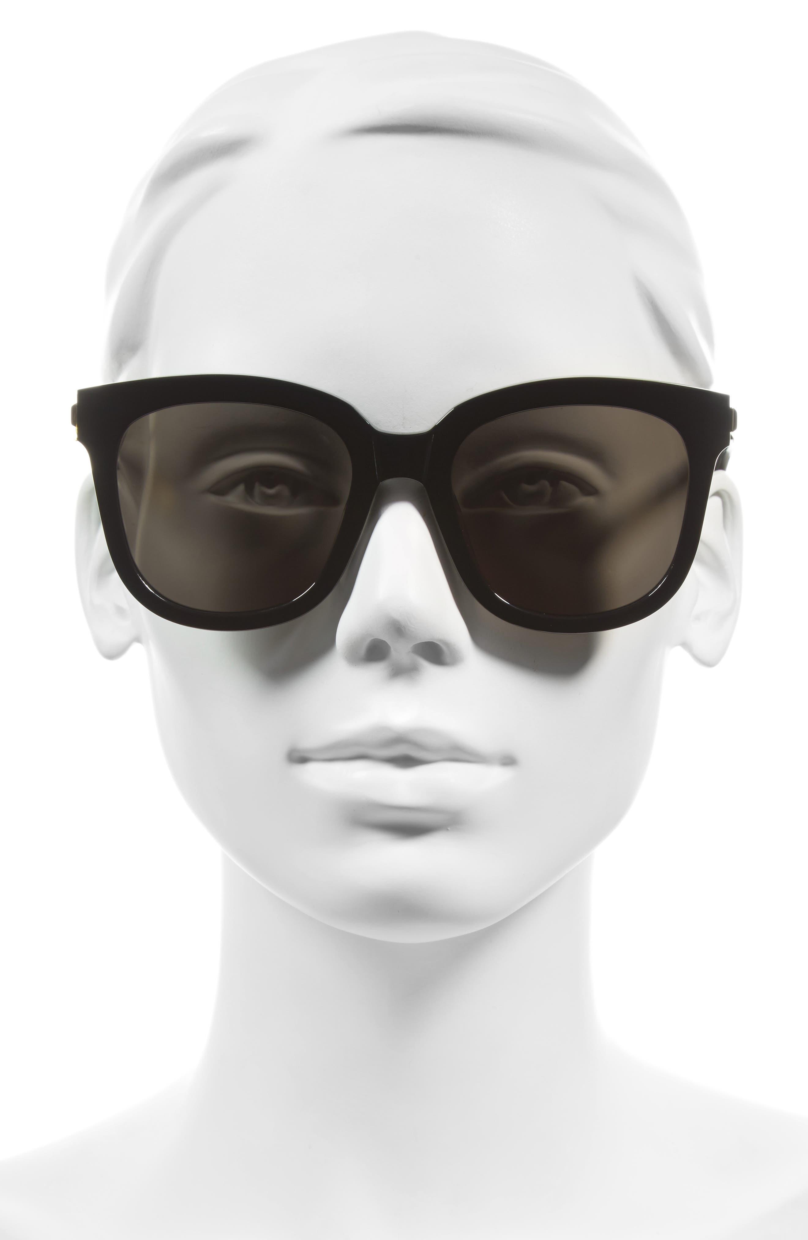 Absente 54mm Sunglasses,                             Alternate thumbnail 4, color,                             001