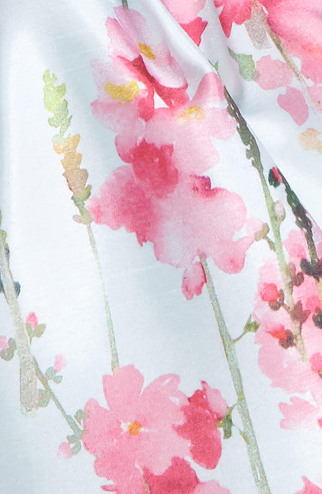 Floral Party Dress,                             Alternate thumbnail 2, color,