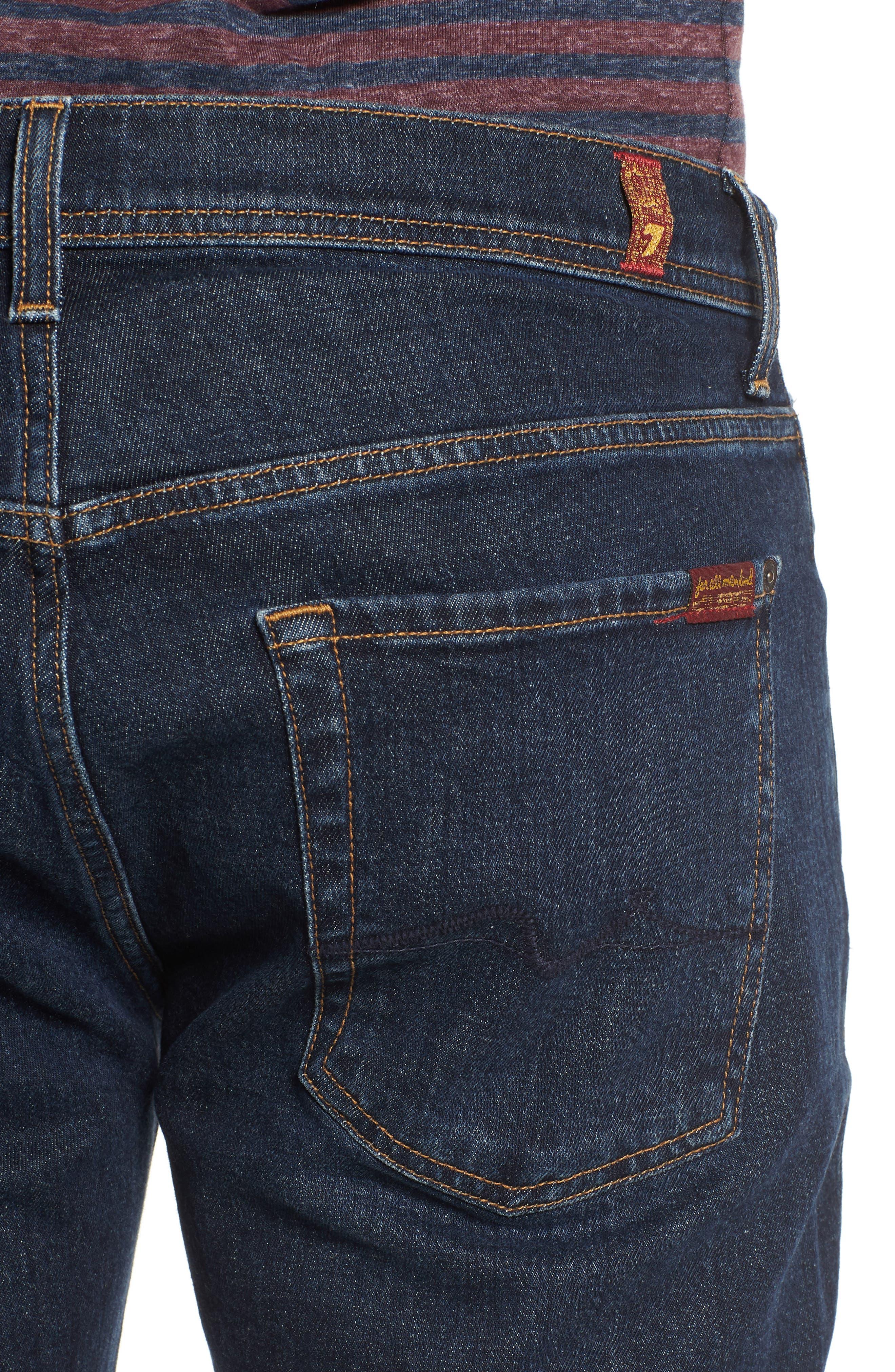 Brett Bootcut Jeans,                             Alternate thumbnail 4, color,