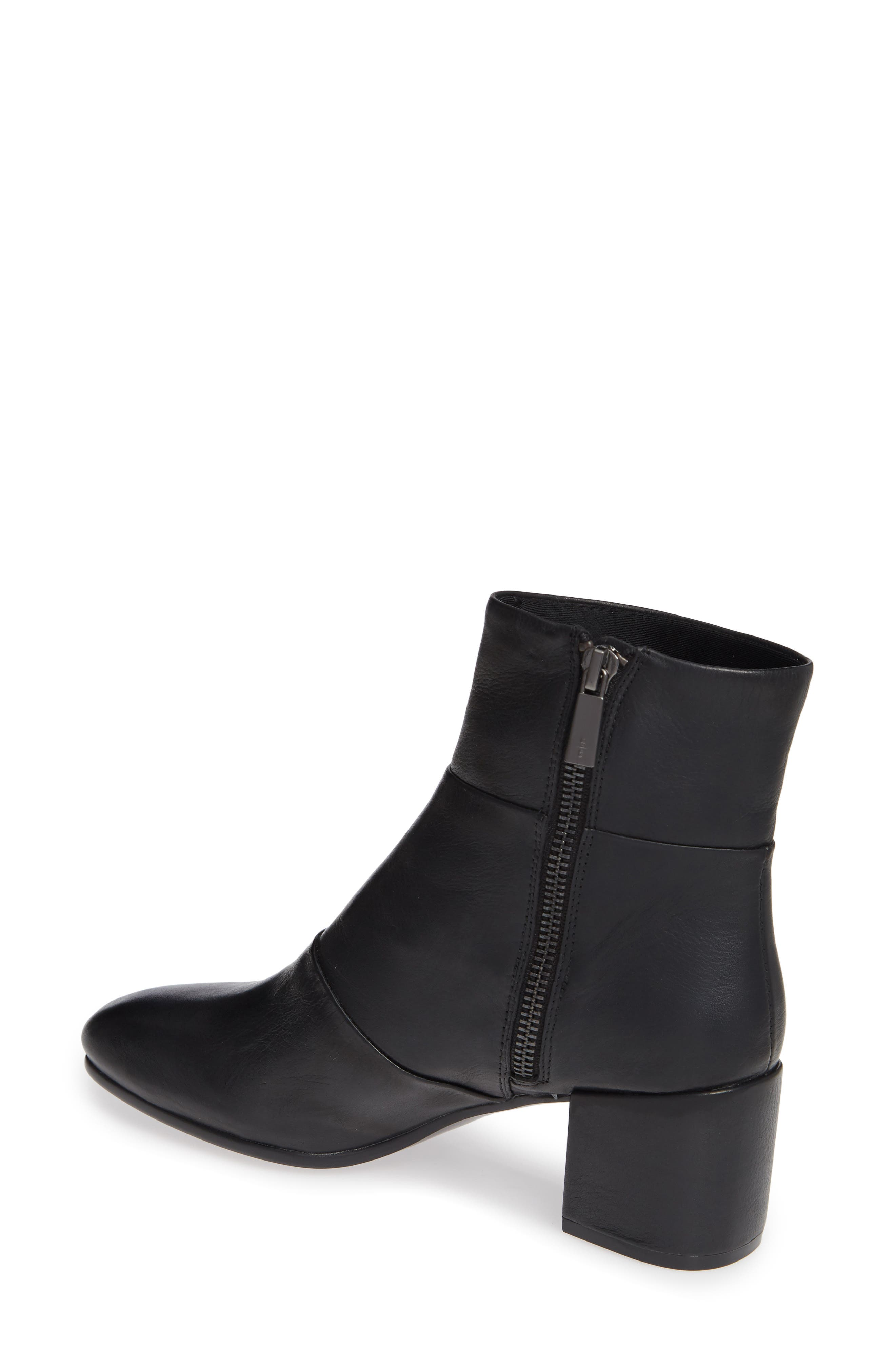 Eryc Bootie,                             Alternate thumbnail 2, color,                             BLACK LEATHER