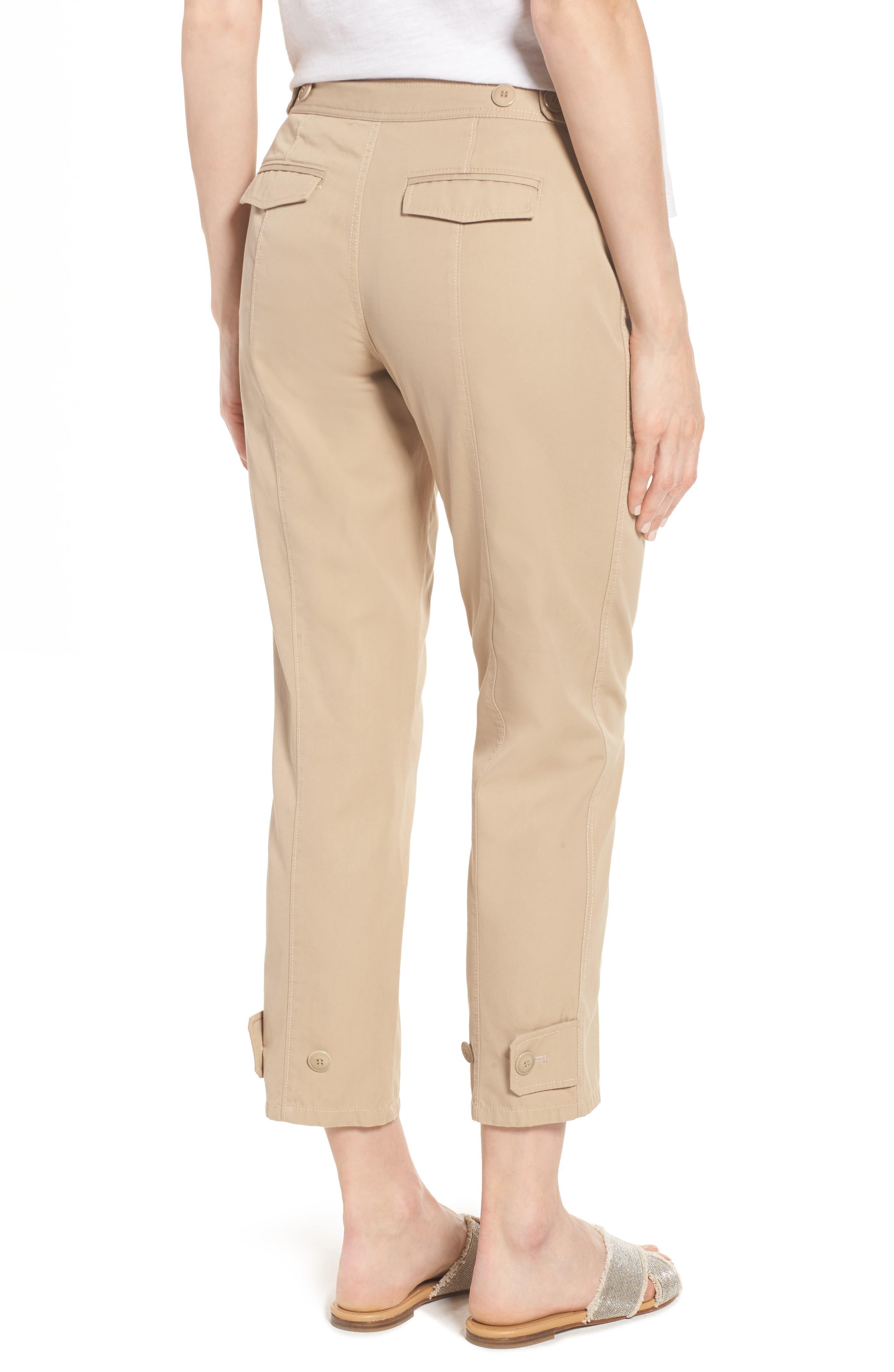 Wide Leg Crop Pants,                             Alternate thumbnail 2, color,                             270