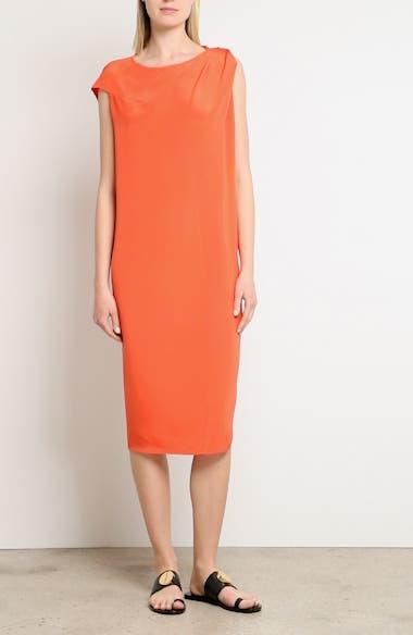 Twist Detail Silk Dress, video thumbnail