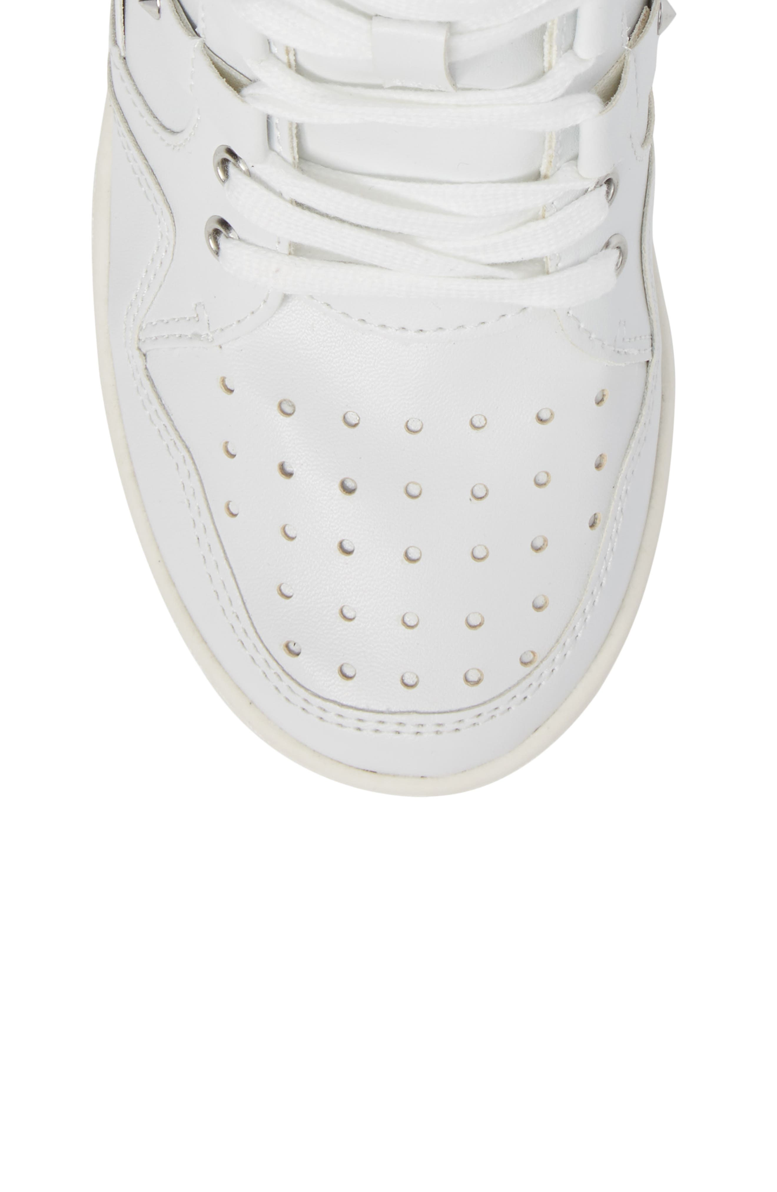 Boogie Chic Studded High Top Sneaker,                             Alternate thumbnail 10, color,