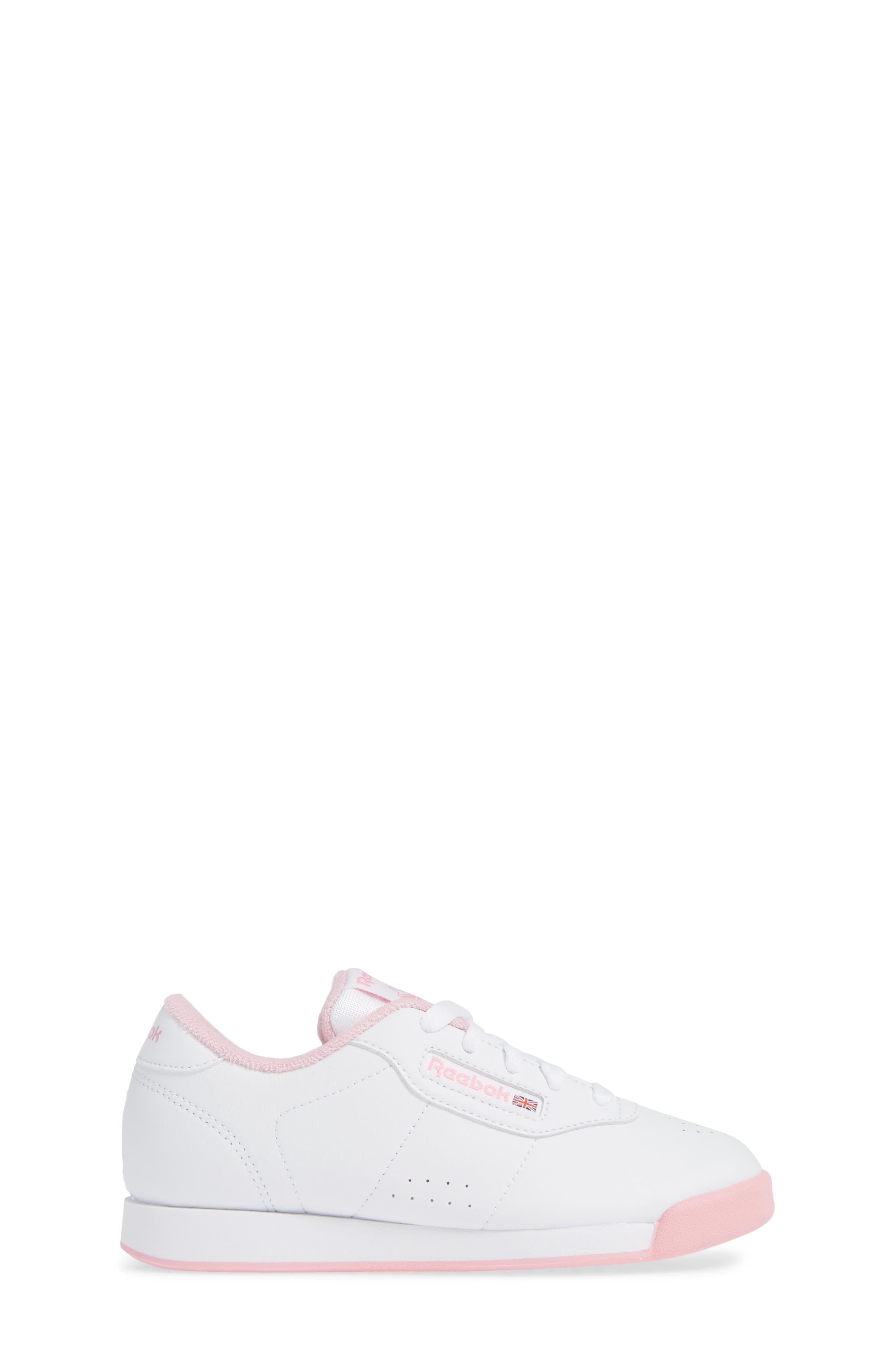 REEBOK,                             Princess Sneaker,                             Alternate thumbnail 3, color,                             100