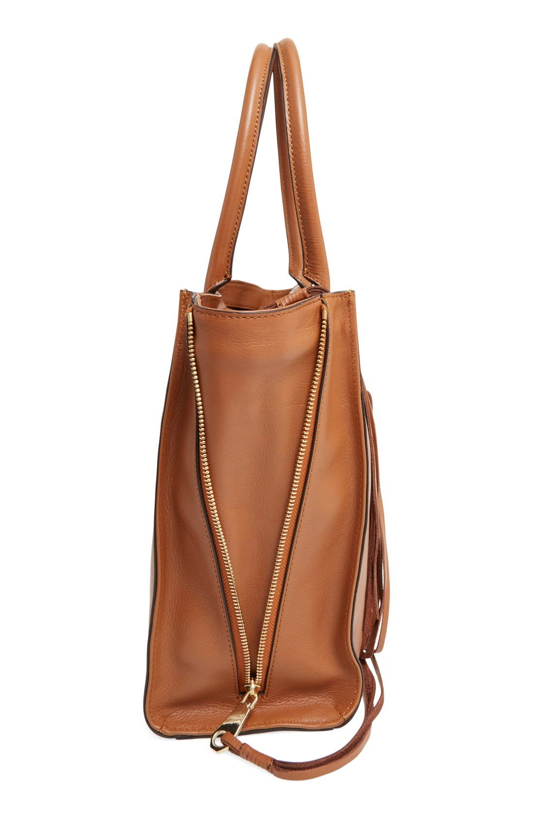 'Side Zip Regan' Tote,                             Alternate thumbnail 16, color,