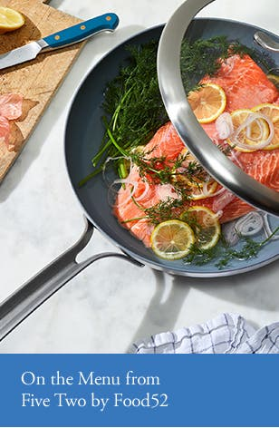 Healthy cooking: nonstick cookware from Food52.