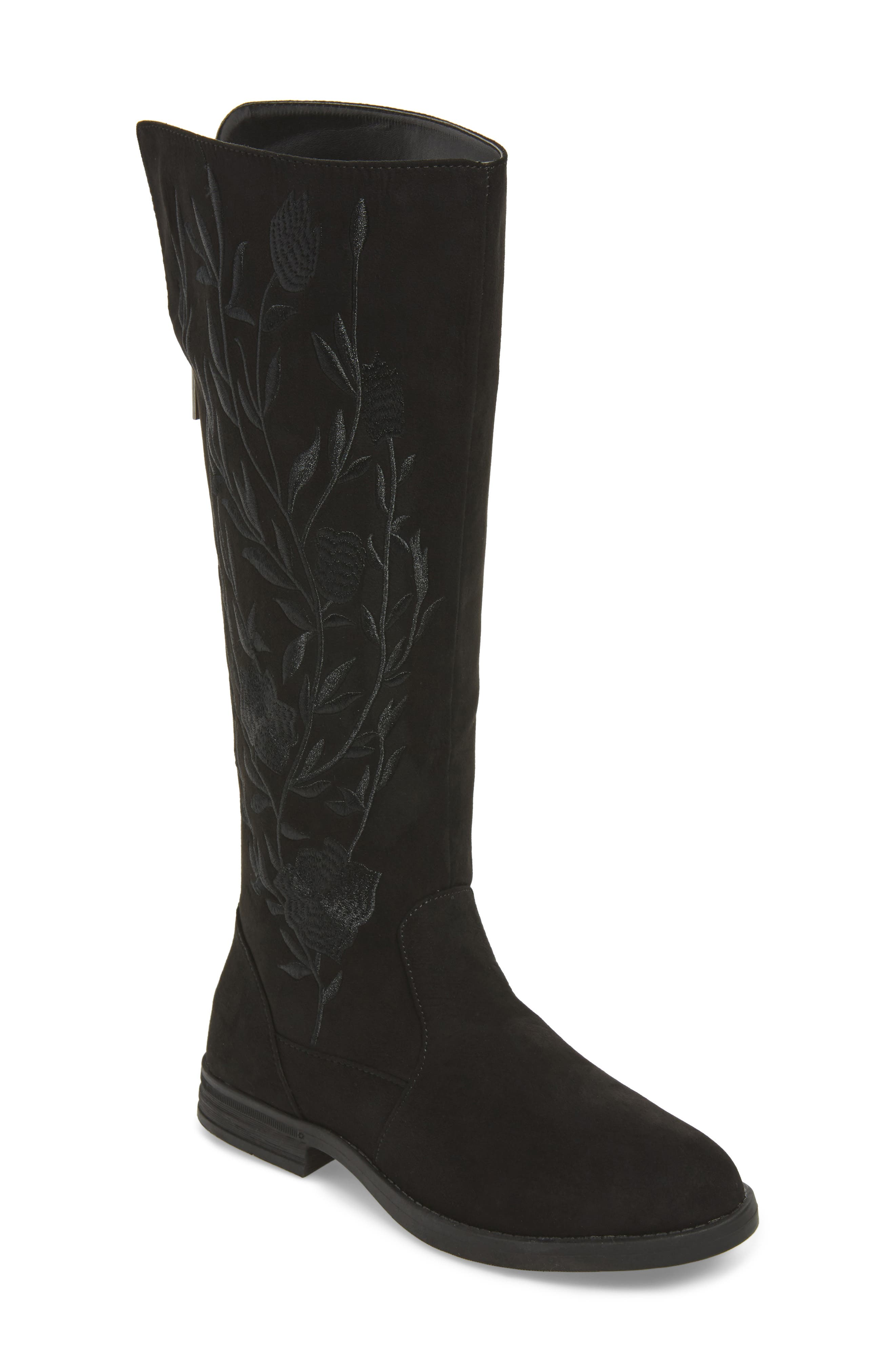 Wildflower Tall Boot,                             Main thumbnail 1, color,                             001