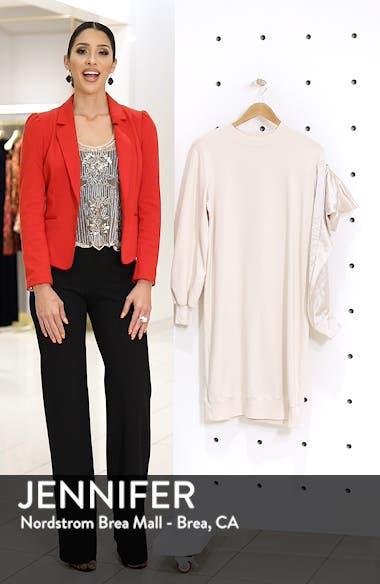 Asymmetric Sweatshirt Dress, sales video thumbnail