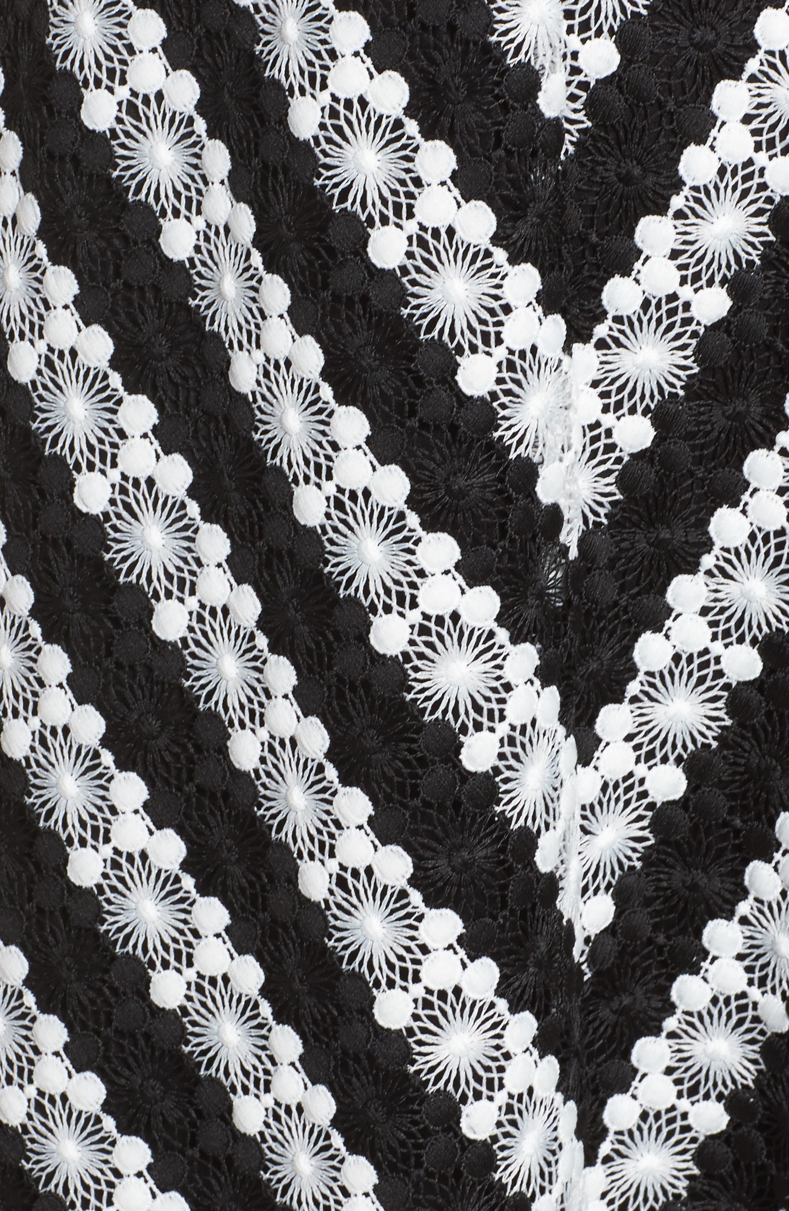 Fit & Flare Dress,                             Alternate thumbnail 5, color,                             009