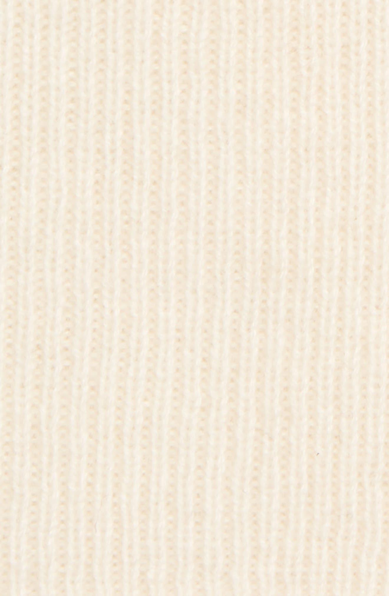 Slouchy Cashmere Beanie,                             Alternate thumbnail 2, color,                             IVORY EGGNOG