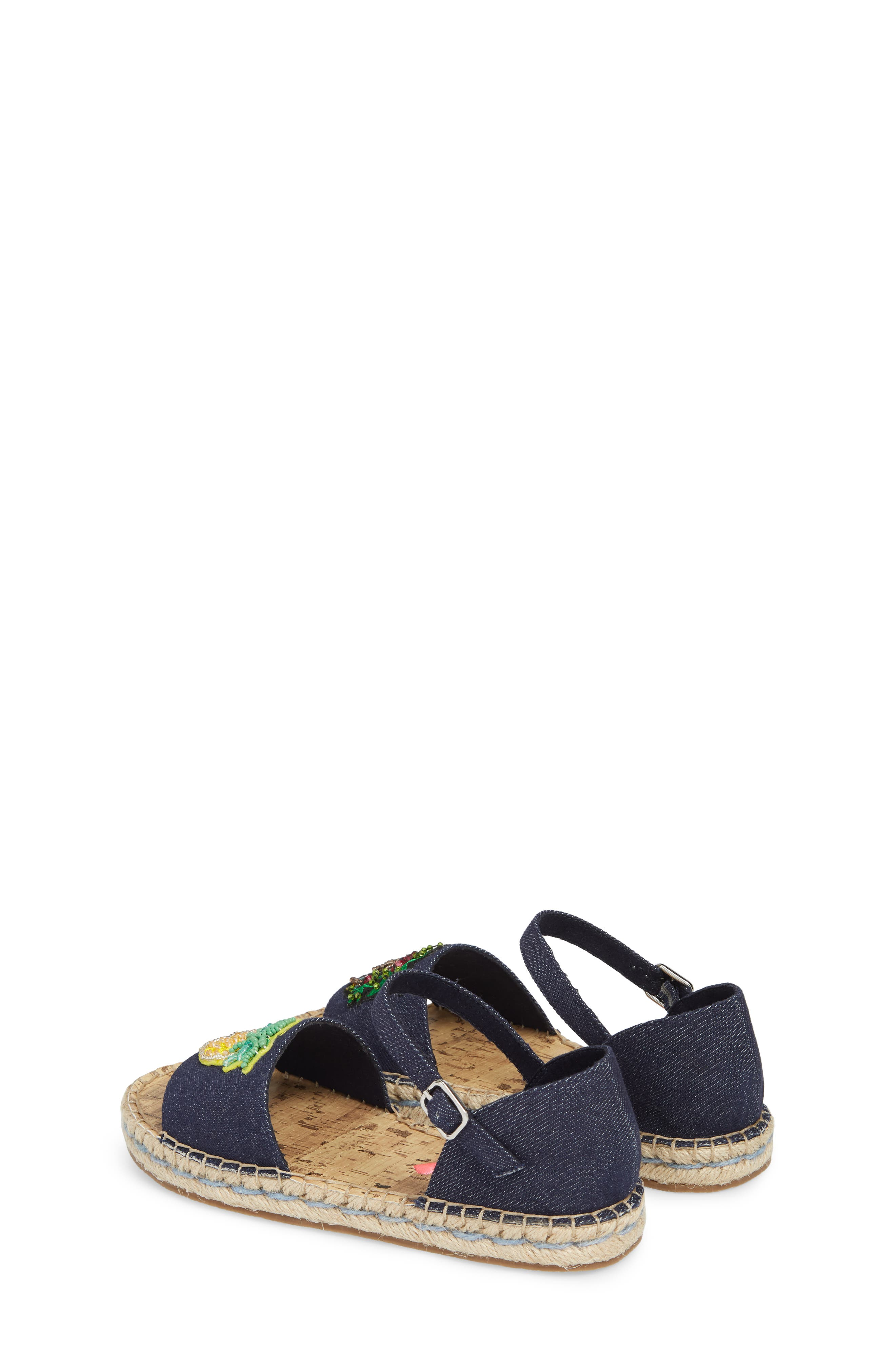 JLUAO Tropical Embellished Sandal,                             Alternate thumbnail 3, color,                             001