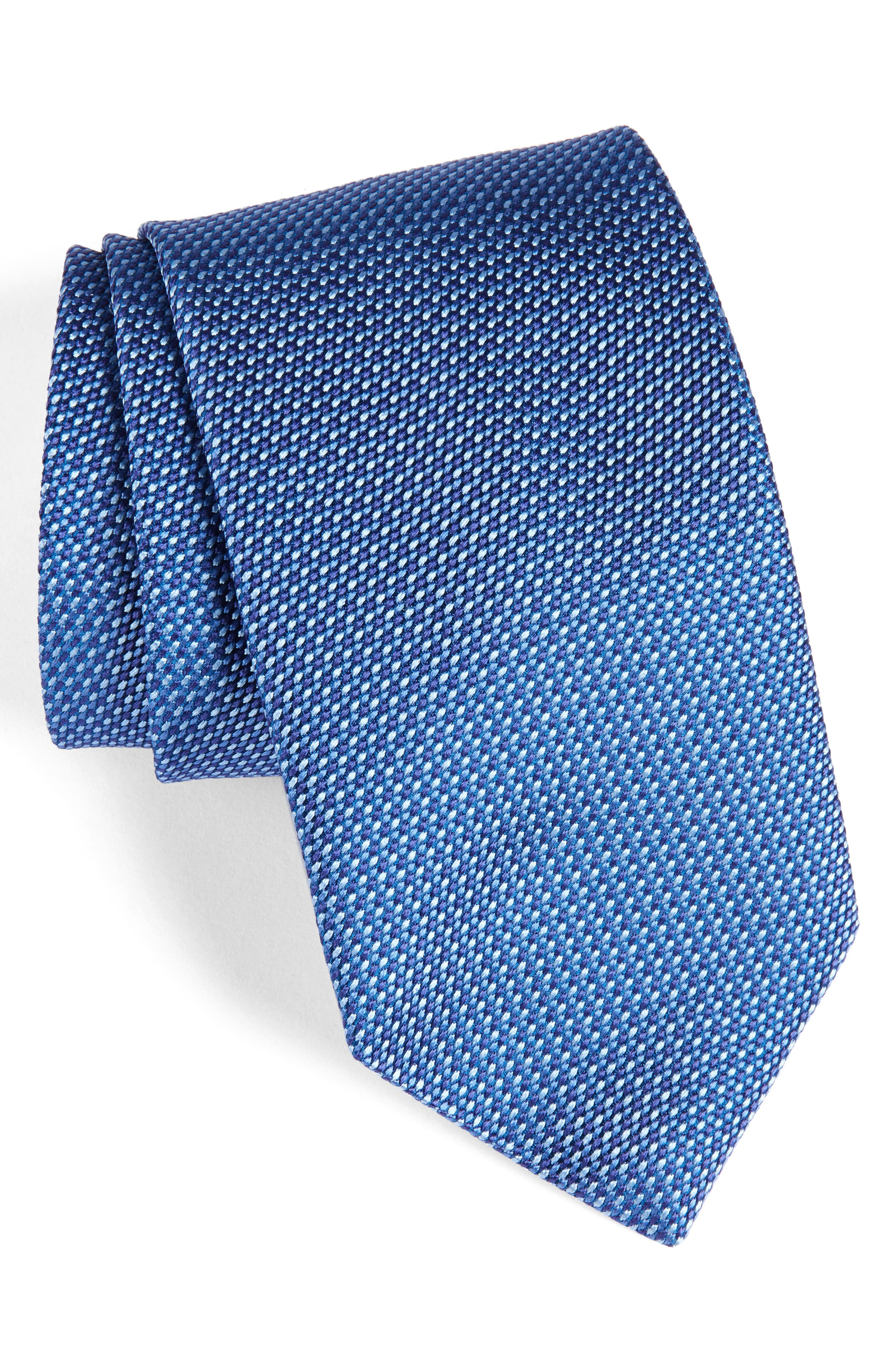 Solid Silk Tie,                             Main thumbnail 1, color,                             423