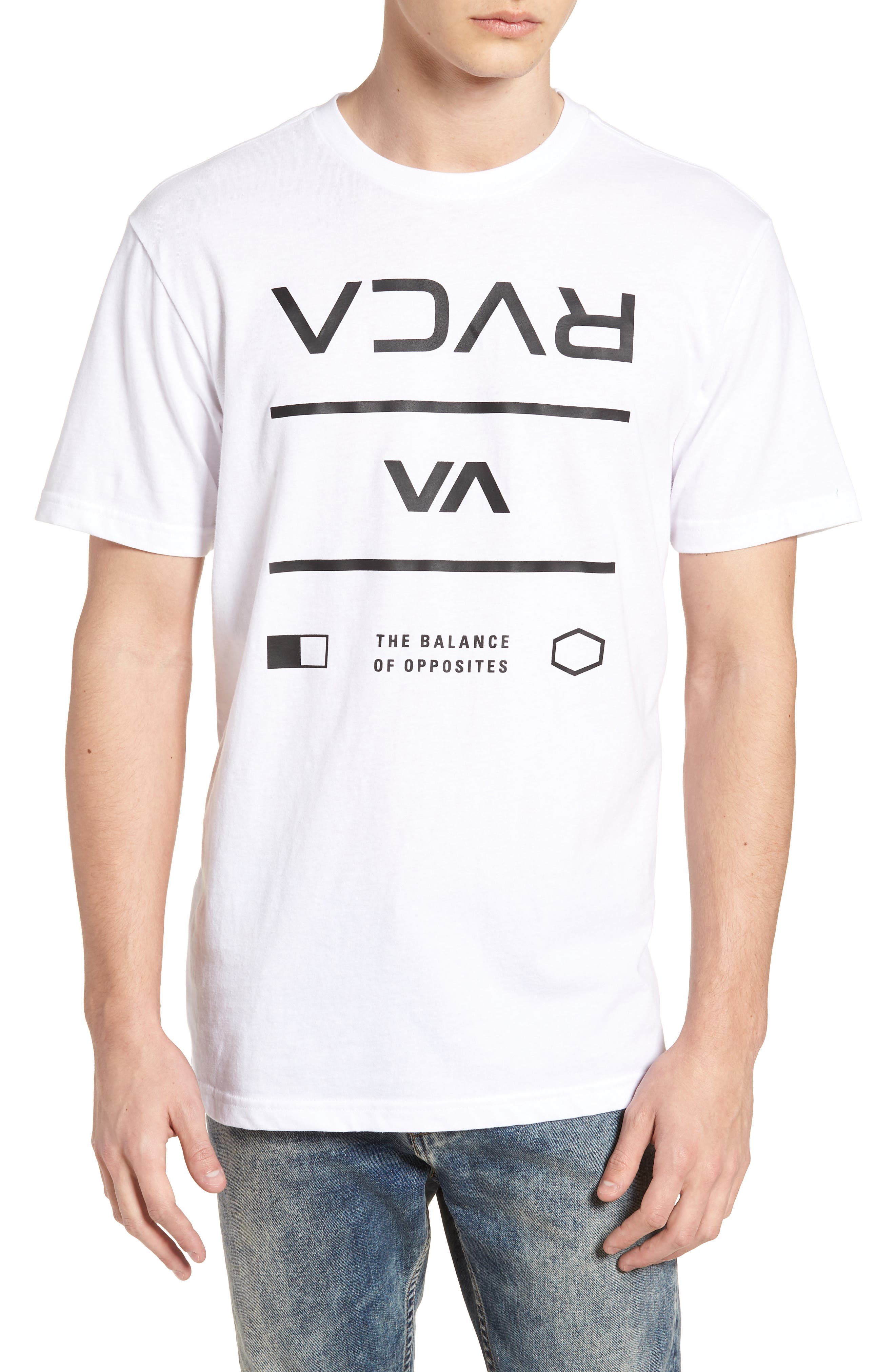 Building T-Shirt,                         Main,                         color, WHITE