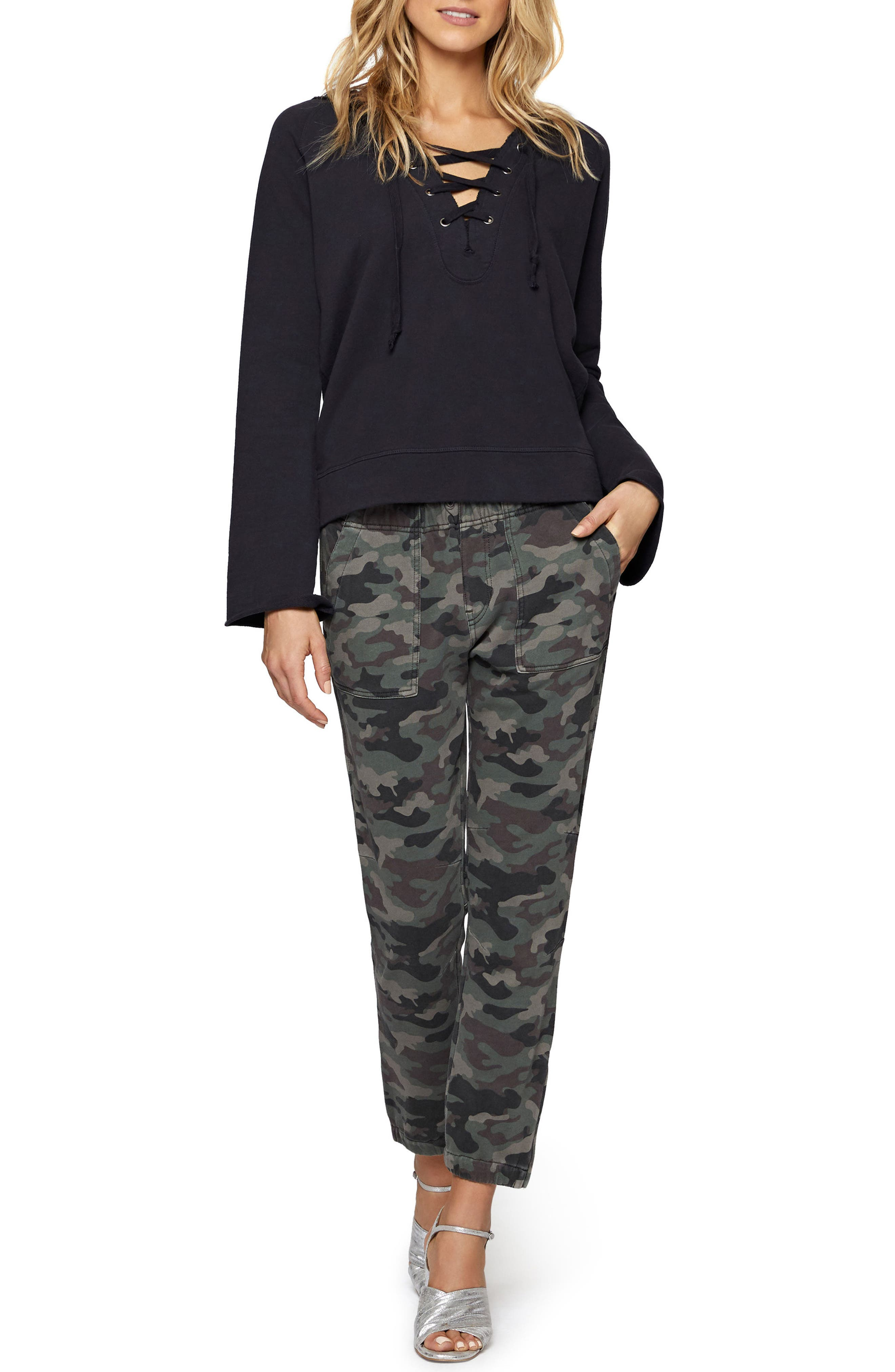 Troop Camo Jogger Pants,                             Alternate thumbnail 3, color,                             397