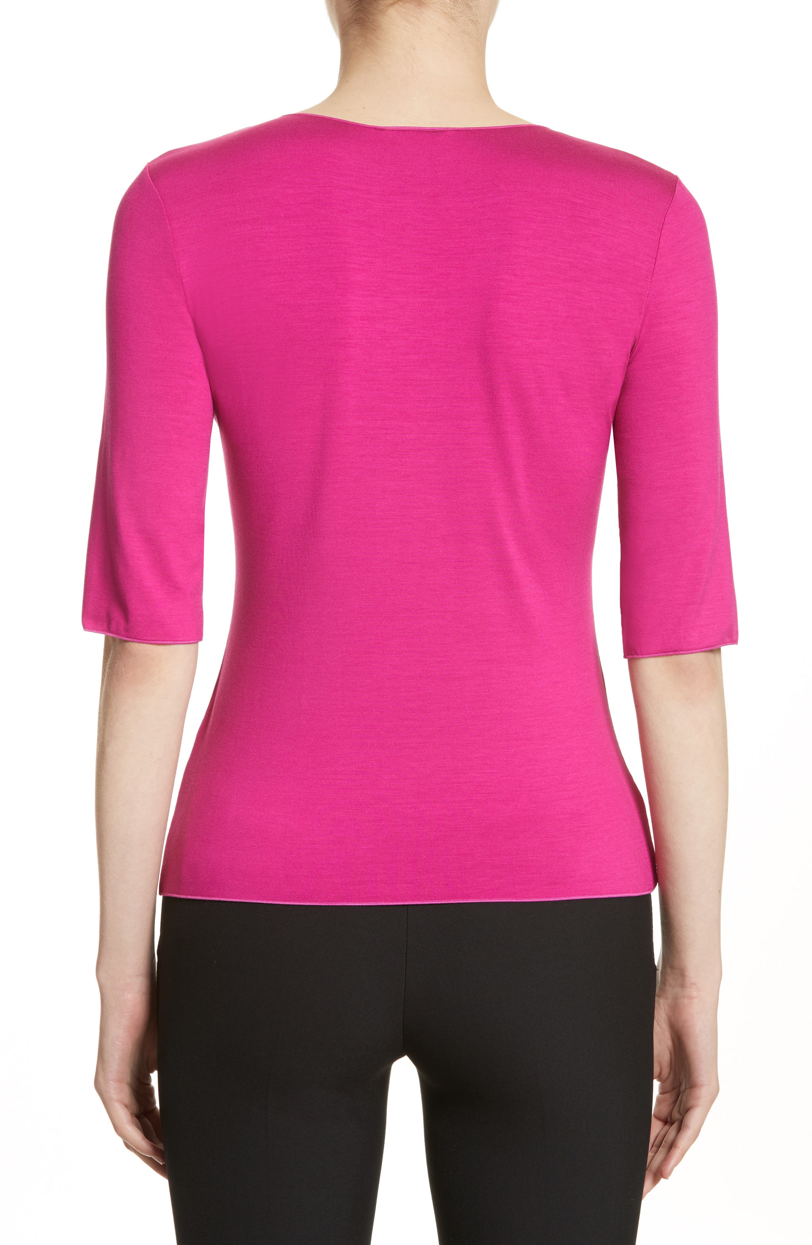 Stretch Jersey Top,                             Alternate thumbnail 2, color,                             696