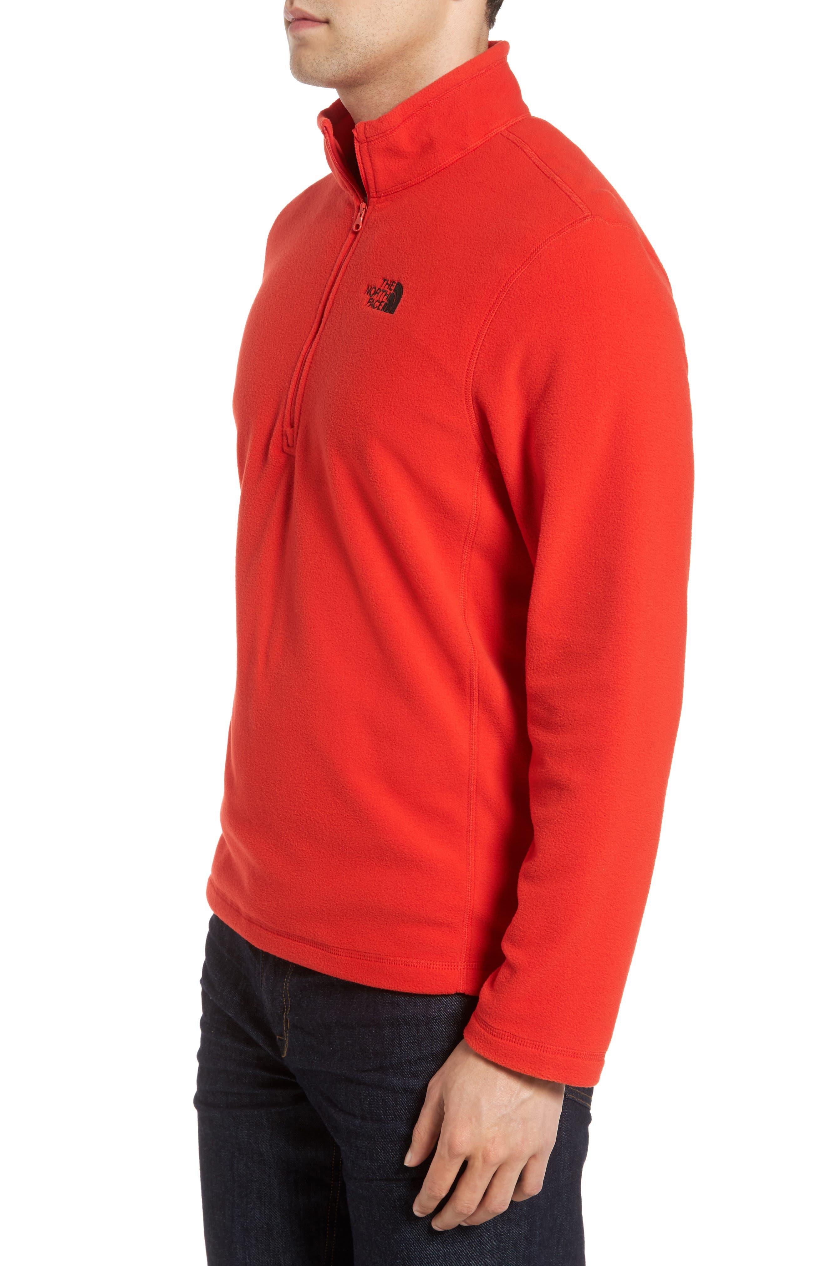 'TKA 100 Glacier' Quarter Zip Fleece Pullover,                             Alternate thumbnail 131, color,