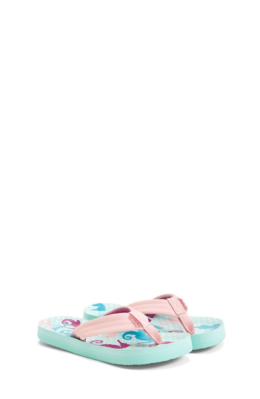 'Little Ahi' Thong Sandal,                             Main thumbnail 7, color,