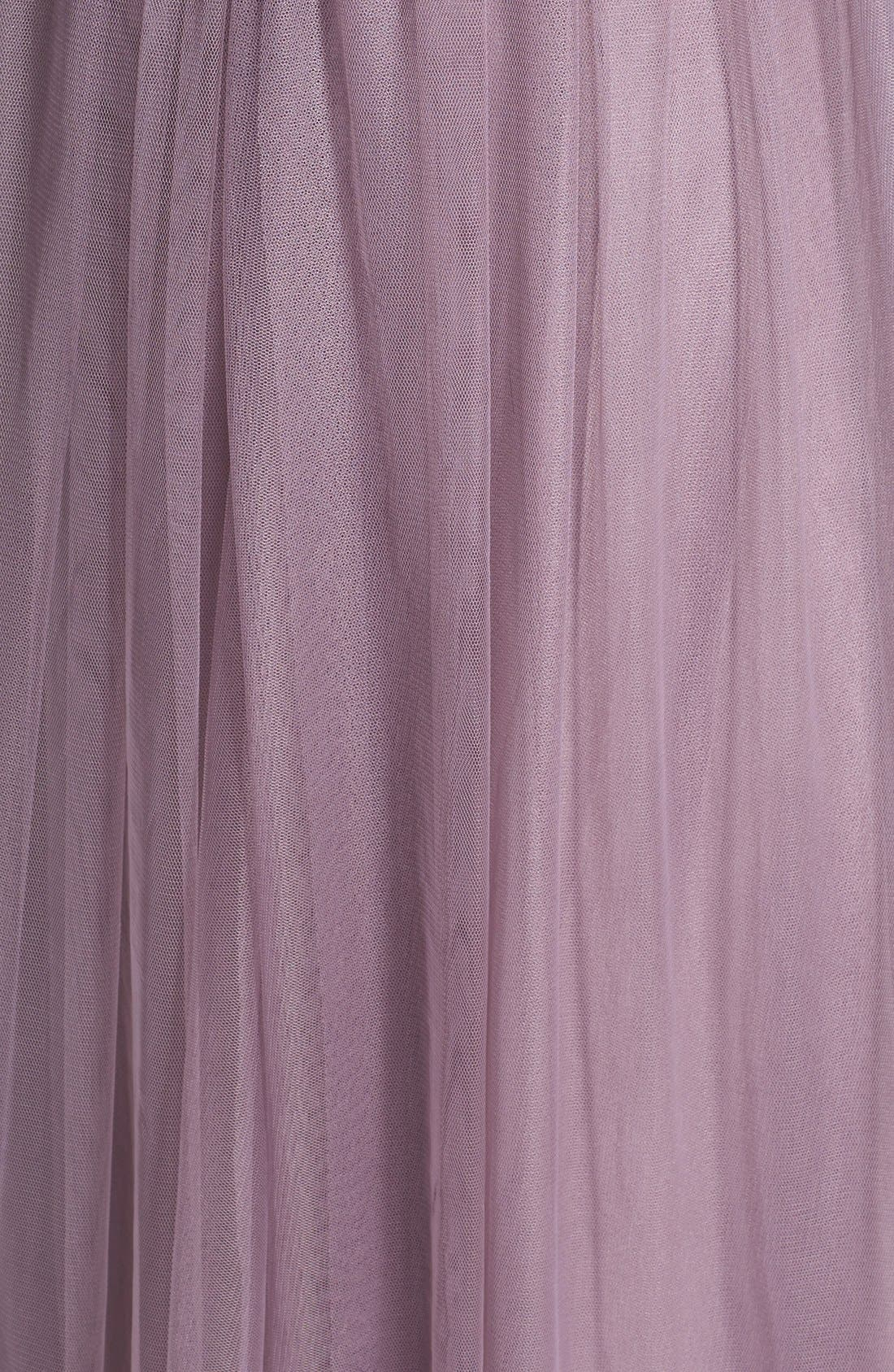 Annabelle Convertible Tulle Column Dress,                             Alternate thumbnail 192, color,